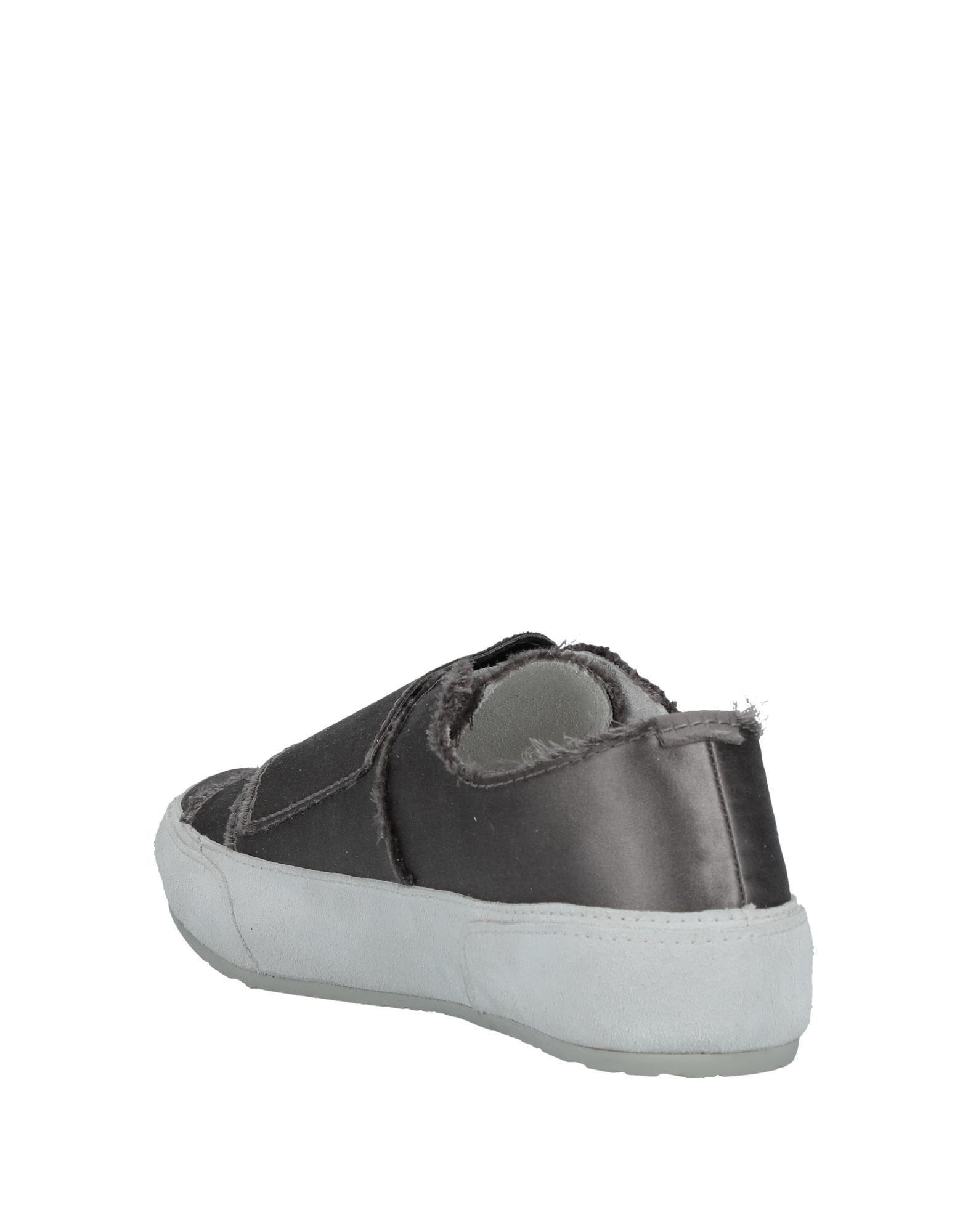 Pedro Garcia Satin Low-tops & Sneakers in Khaki (Grey)