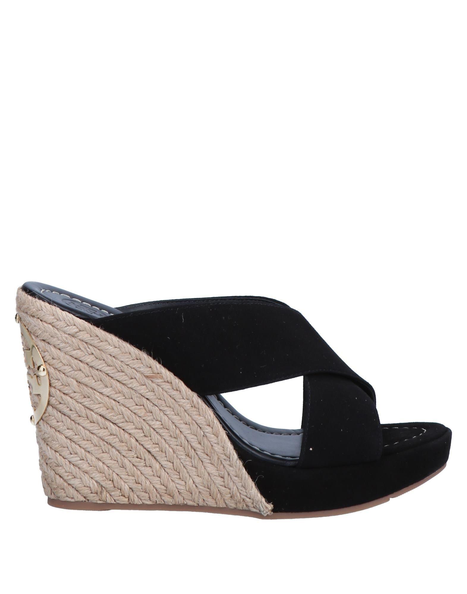 00361ba7958 Tory Burch Sandals in Black - Lyst