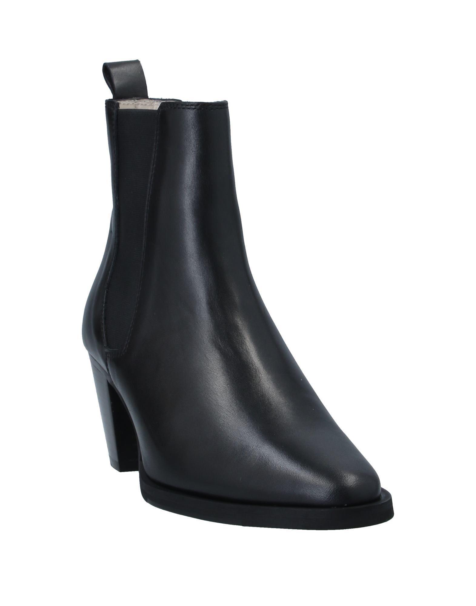 Botines de caña alta Royal Republiq de Cuero de color Negro