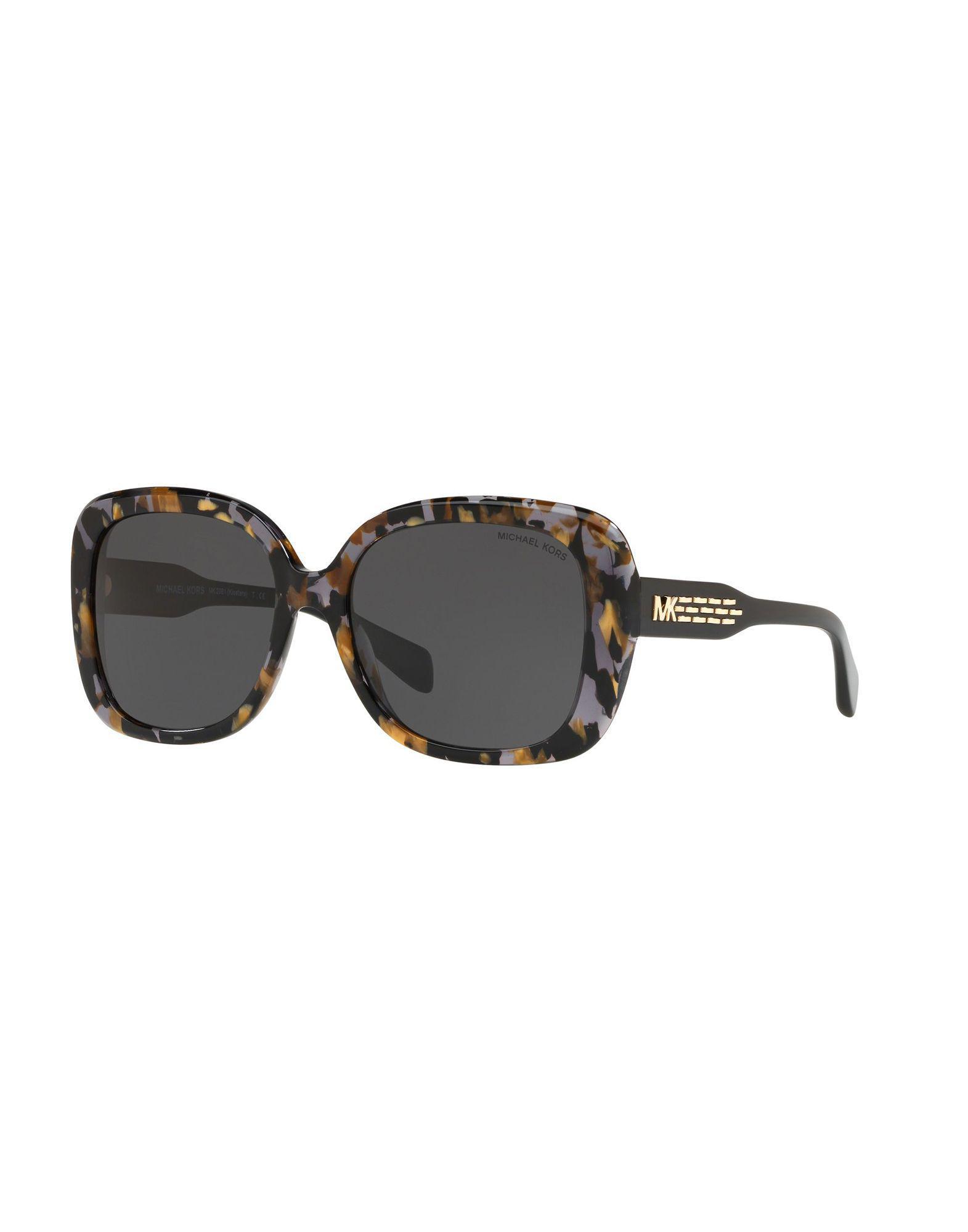 44b83153e4 Michael Kors Sunglasses in Black - Lyst