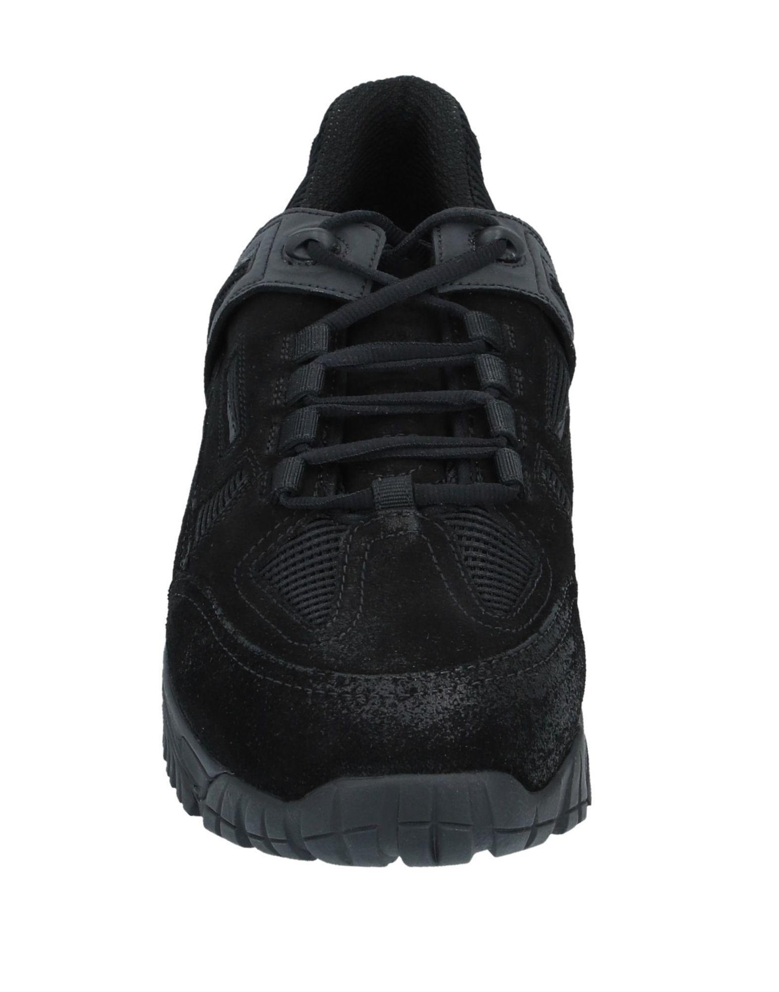 Sneakers & Deportivas Maison Margiela de Cuero de color Negro para hombre