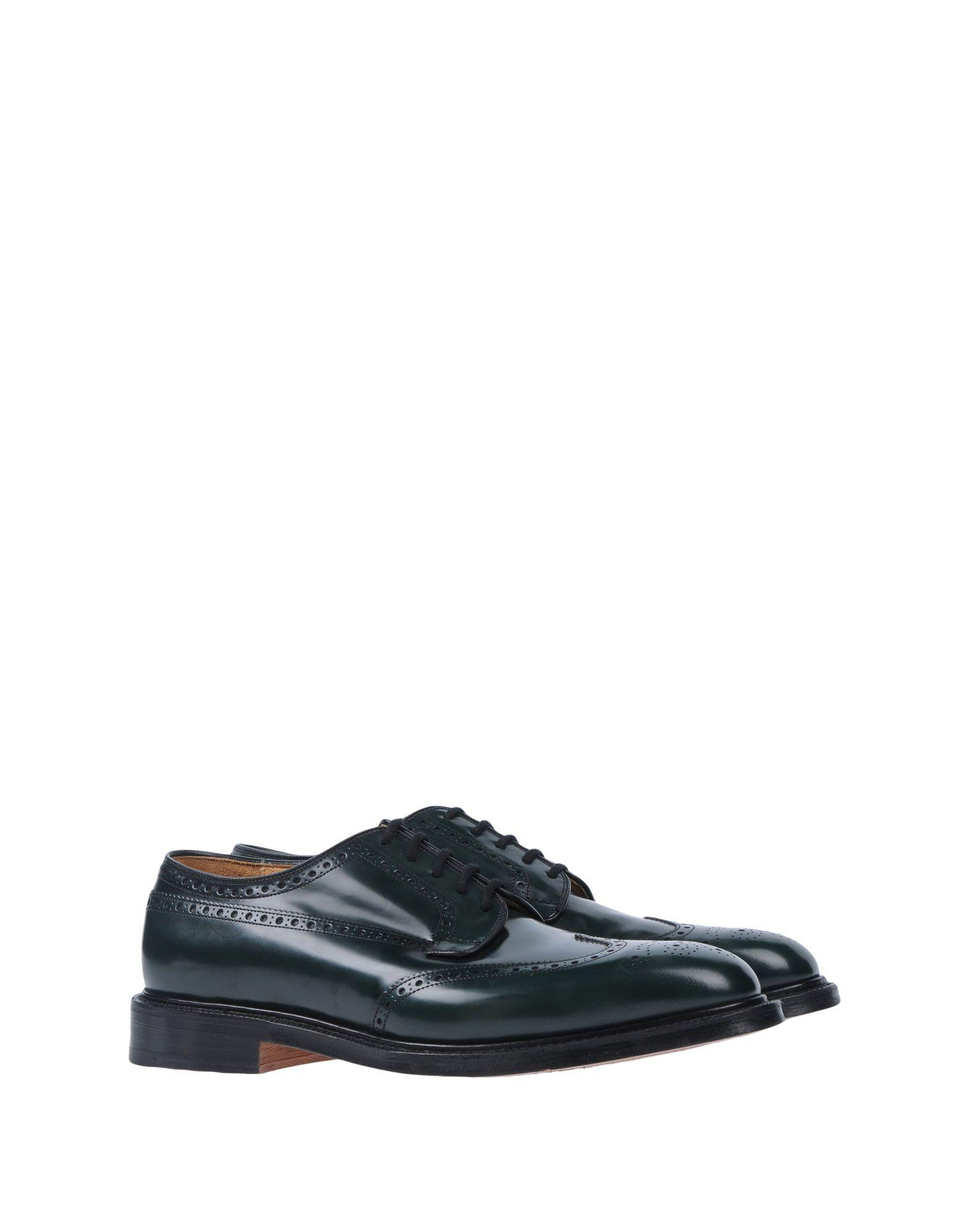 Church's Leather Lace-up Shoe in Green for Men