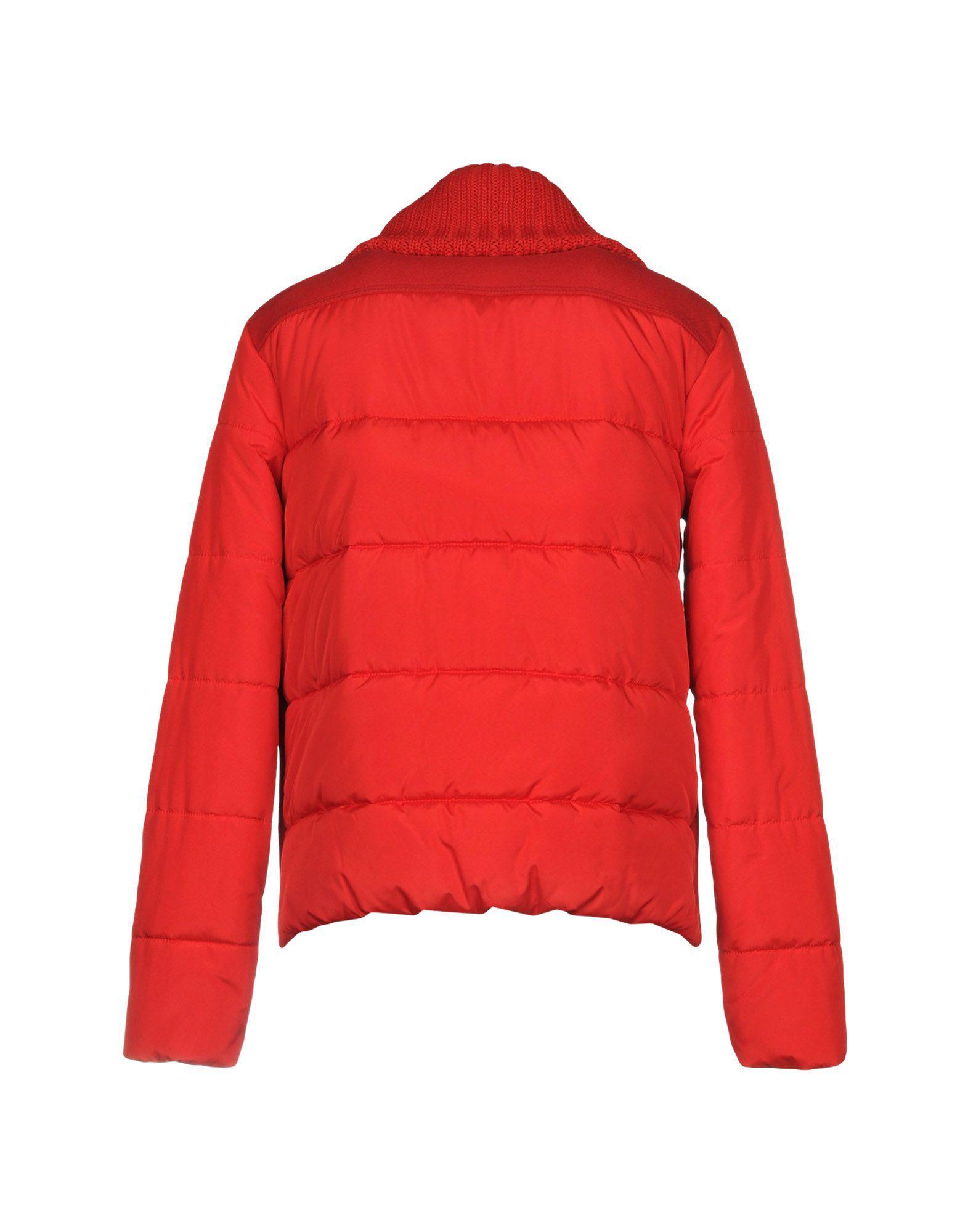 Blouson Synthétique Versace Jeans Couture en coloris Rouge