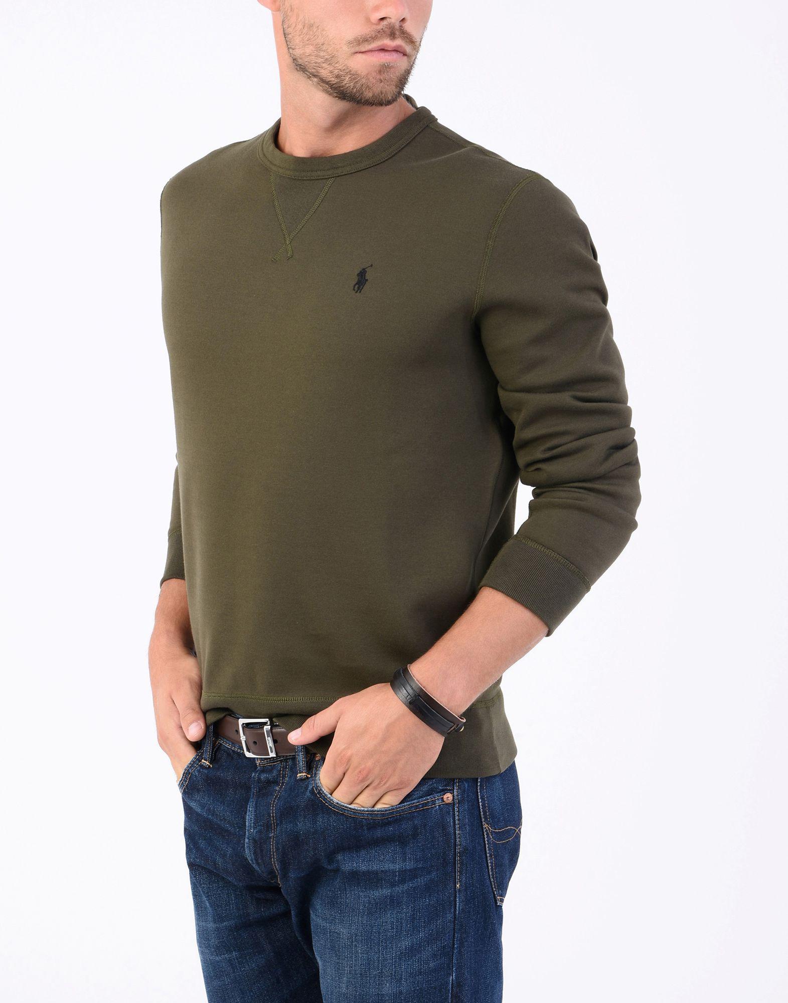 Homme Shirt Sweat Vert De Coloris 8wvmNn0