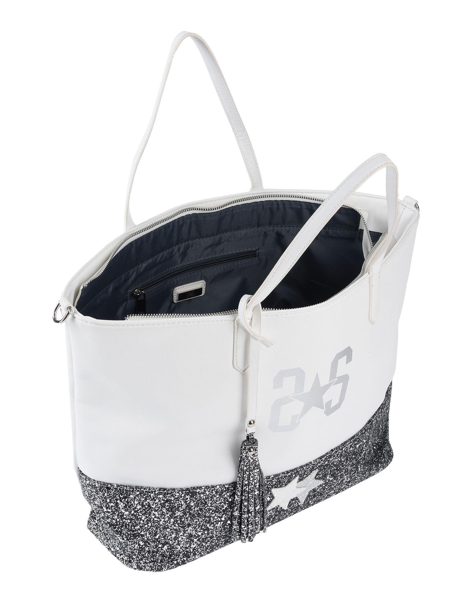 2Star Handtaschen in Weiß nNXva