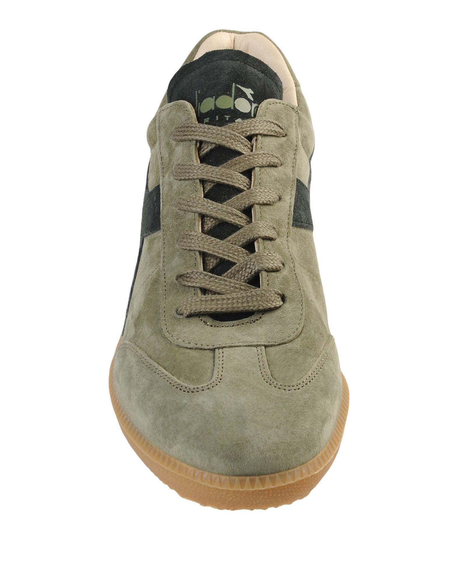 Sneakers & Deportivas Diadora de Ante de color Verde para hombre