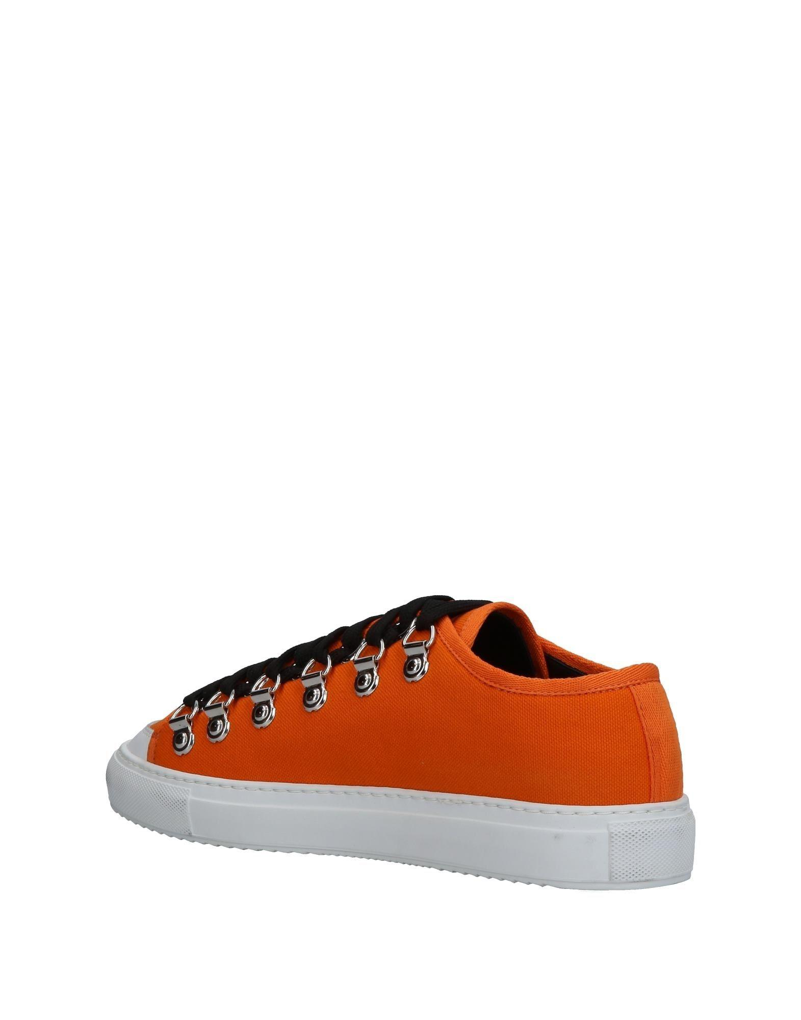 JW Anderson Canvas Low-tops & Sneakers in Orange