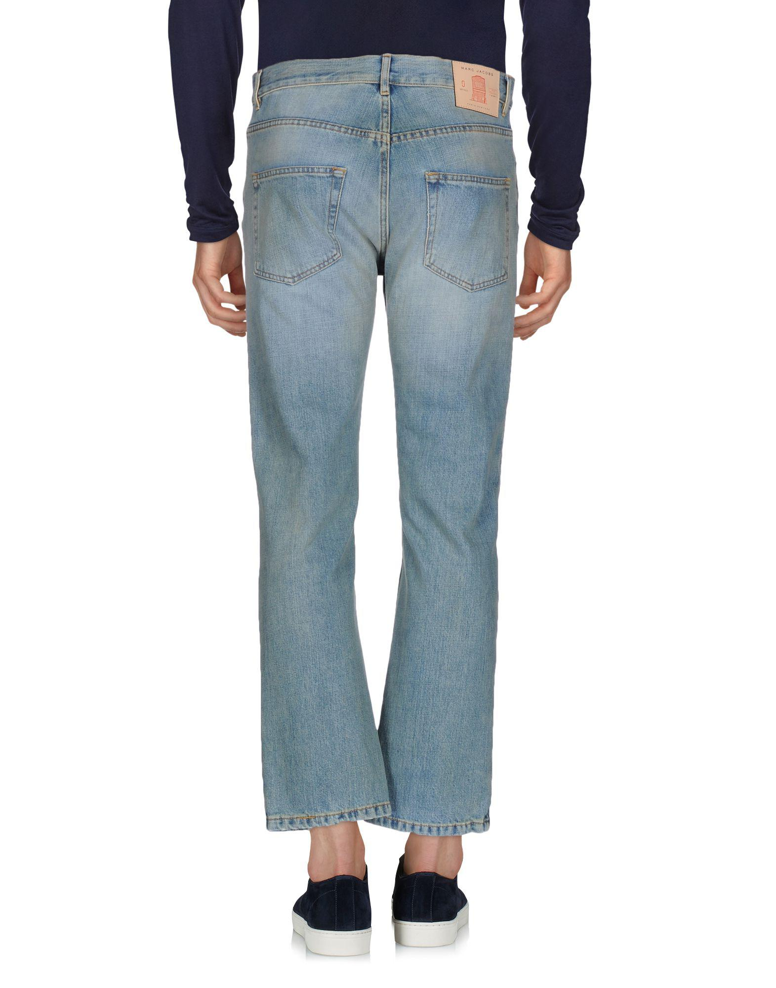 Marc Jacobs Denim Trousers in Blue for Men