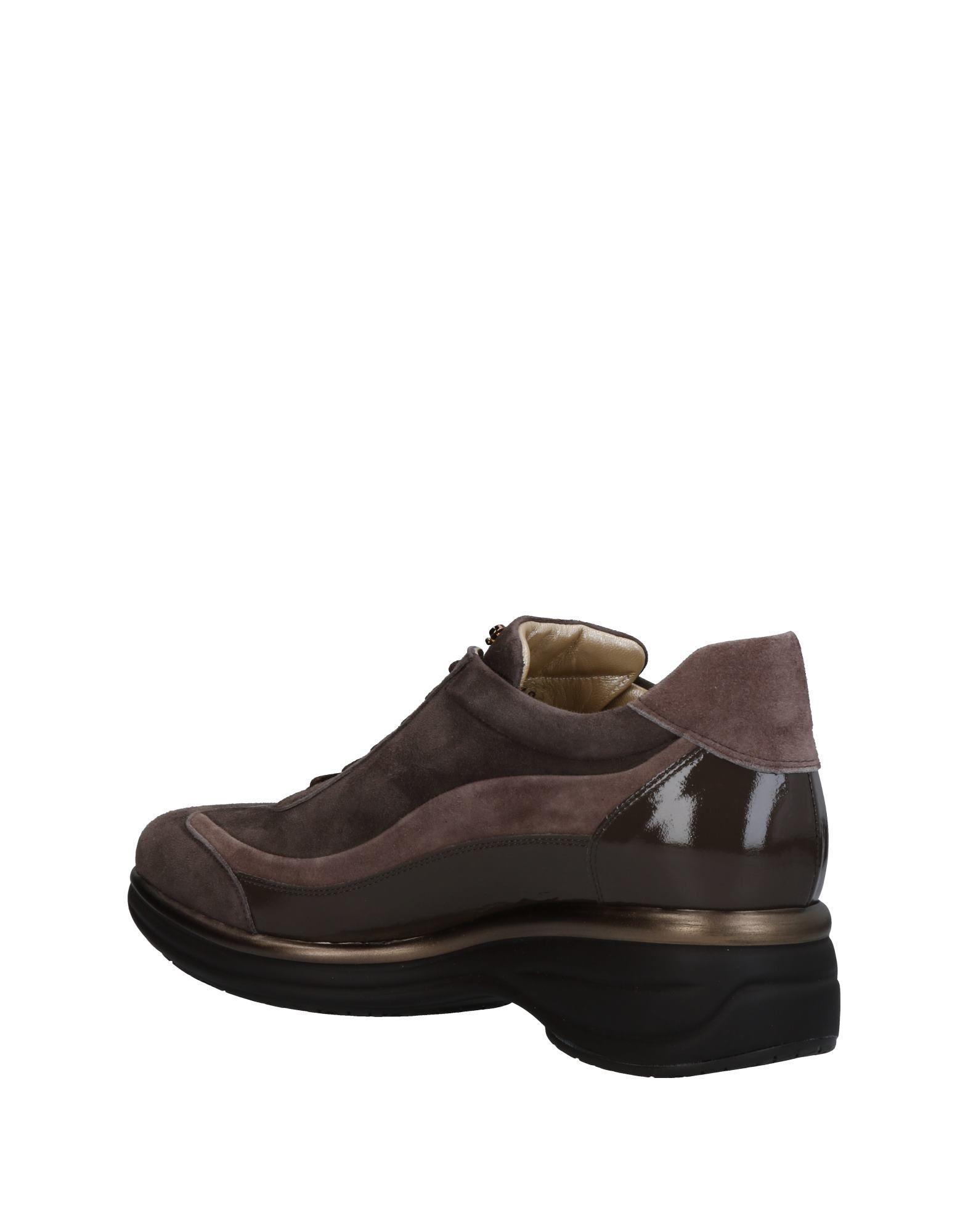 Cesare Paciotti Suede Low-tops & Sneakers in Dark Brown (Brown)