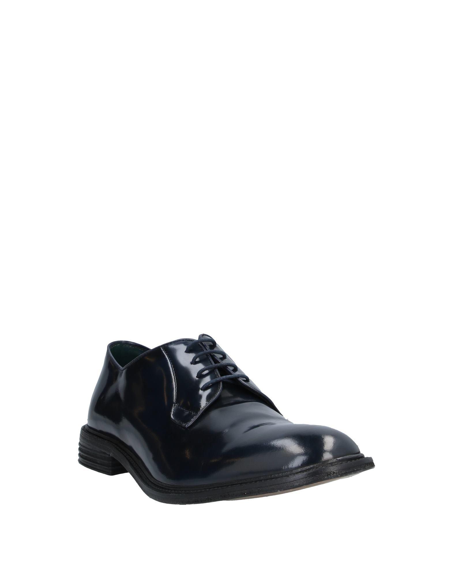 Zapatos de cordones Jeckerson de Cuero de color Azul para hombre