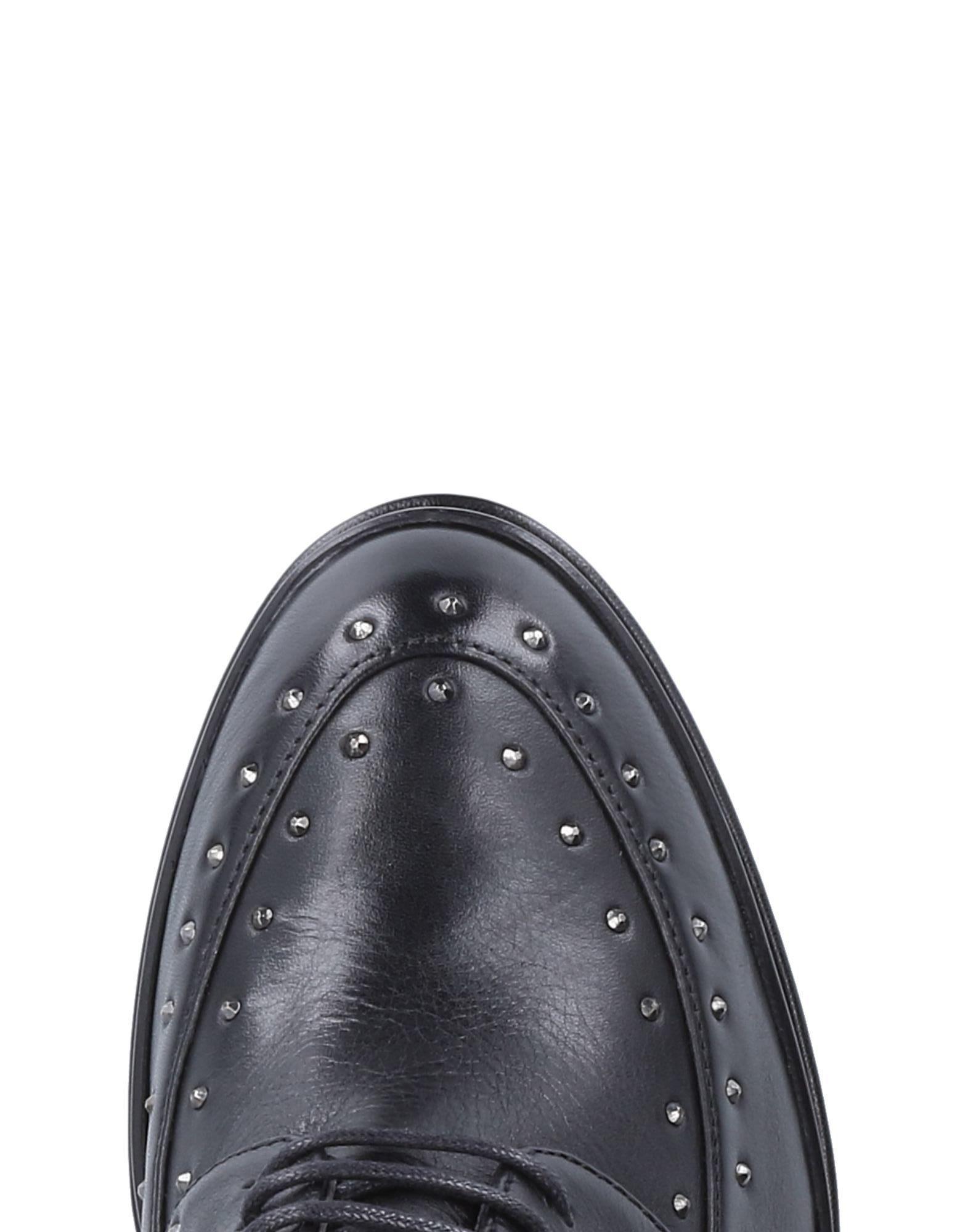Zapatos de cordones Janet & Janet de Cuero de color Negro