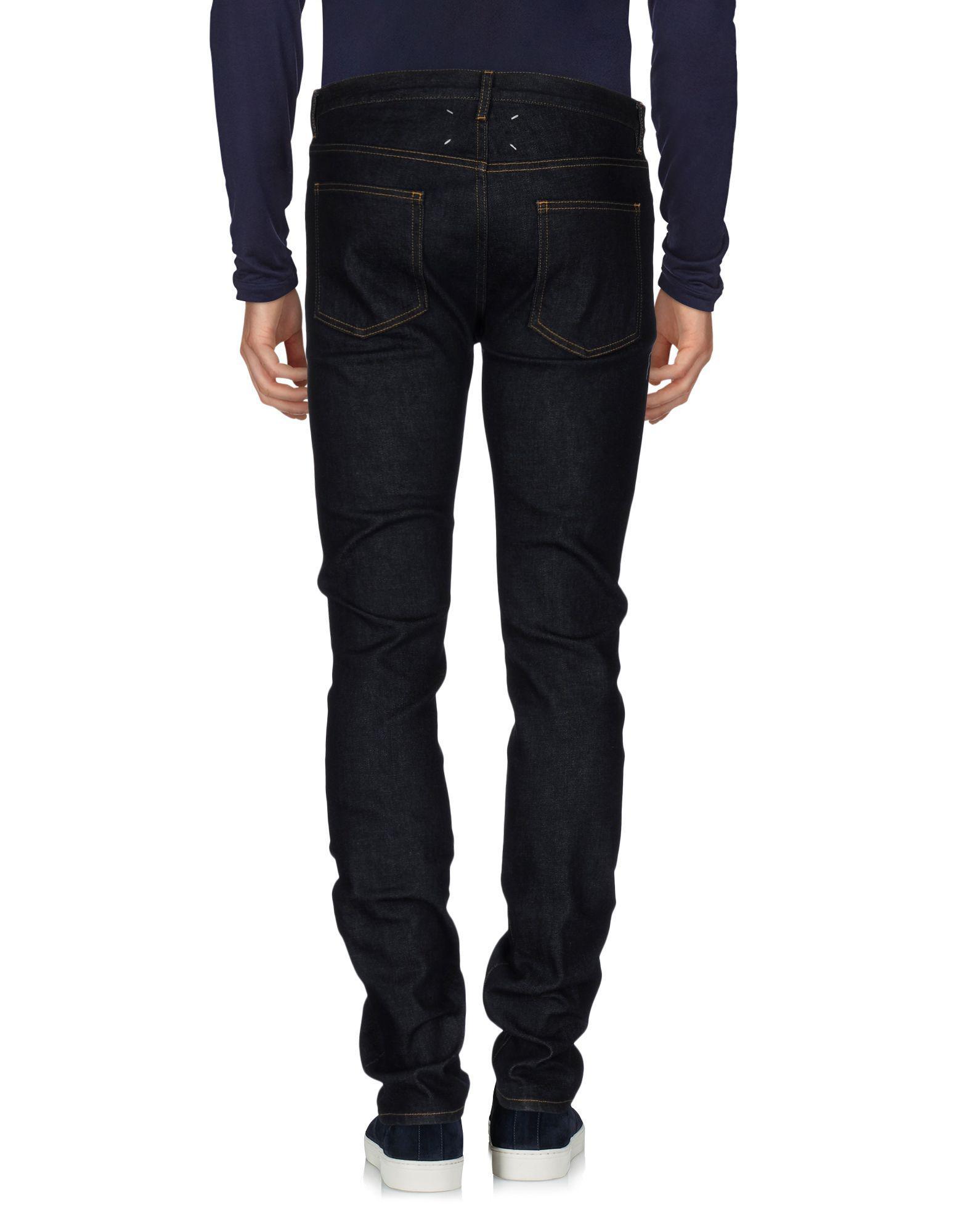 Maison Margiela Denim Pants in Blue for Men