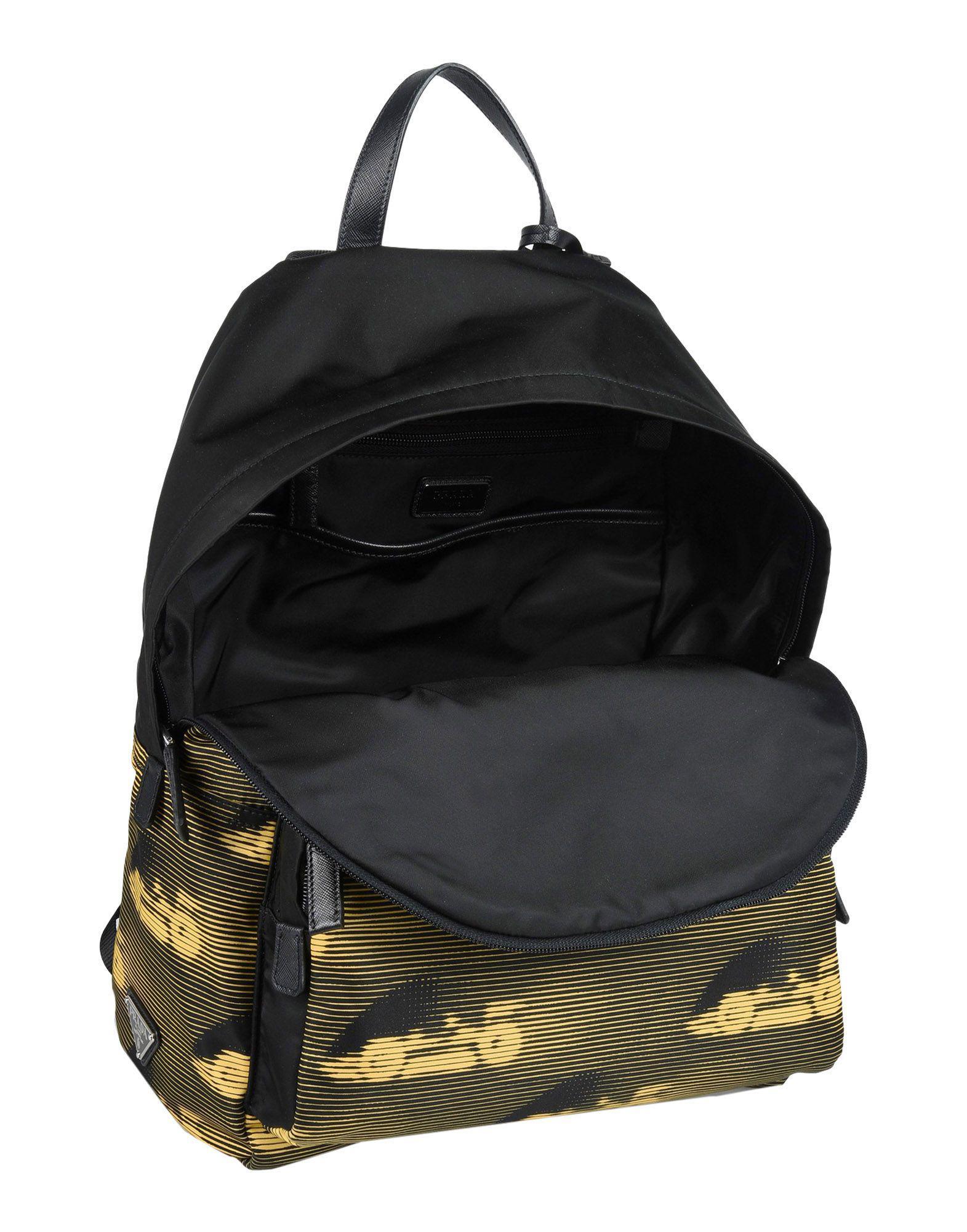 Lyst In Bum Prada amp; Bags Backpacks Black qpRIFI4Yw