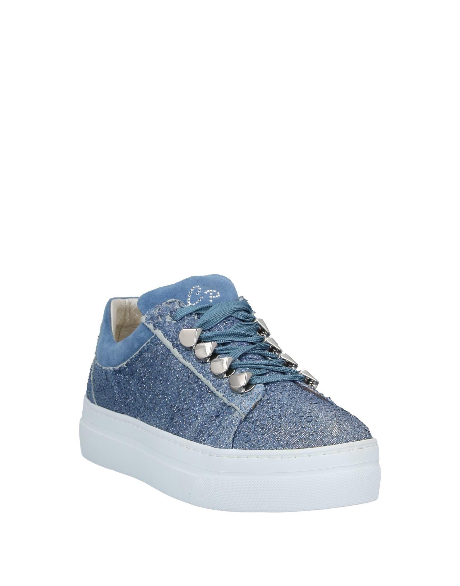 Sneakers & Deportivas Cesare Paciotti de Ante de color Azul