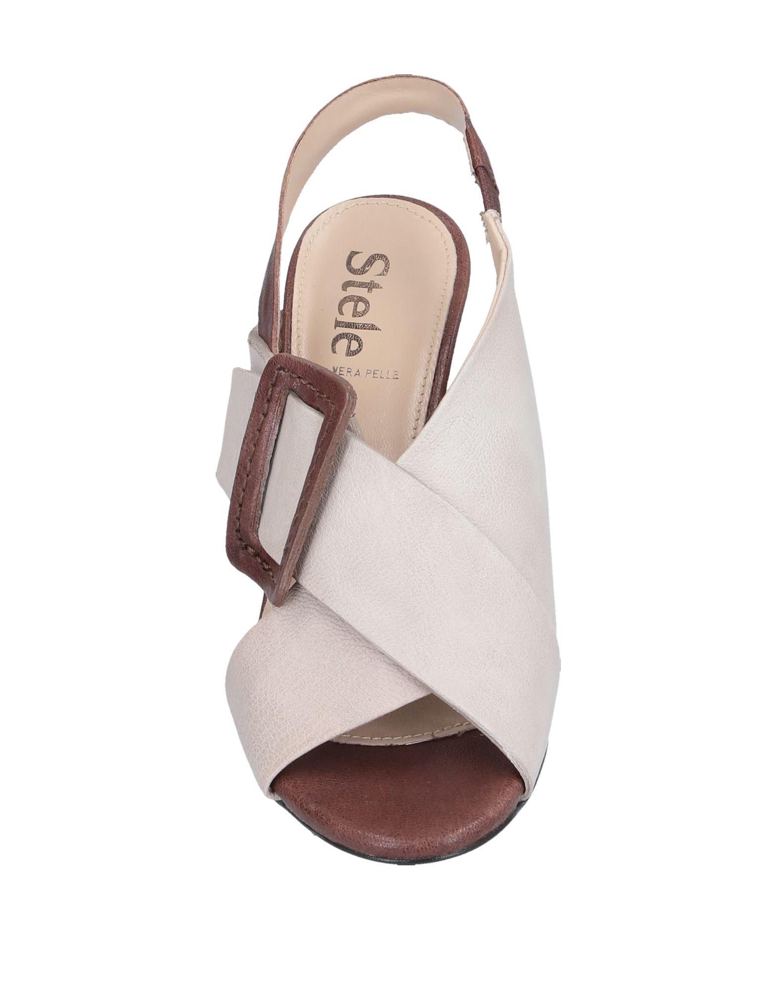 Sandales Stele en coloris Neutre