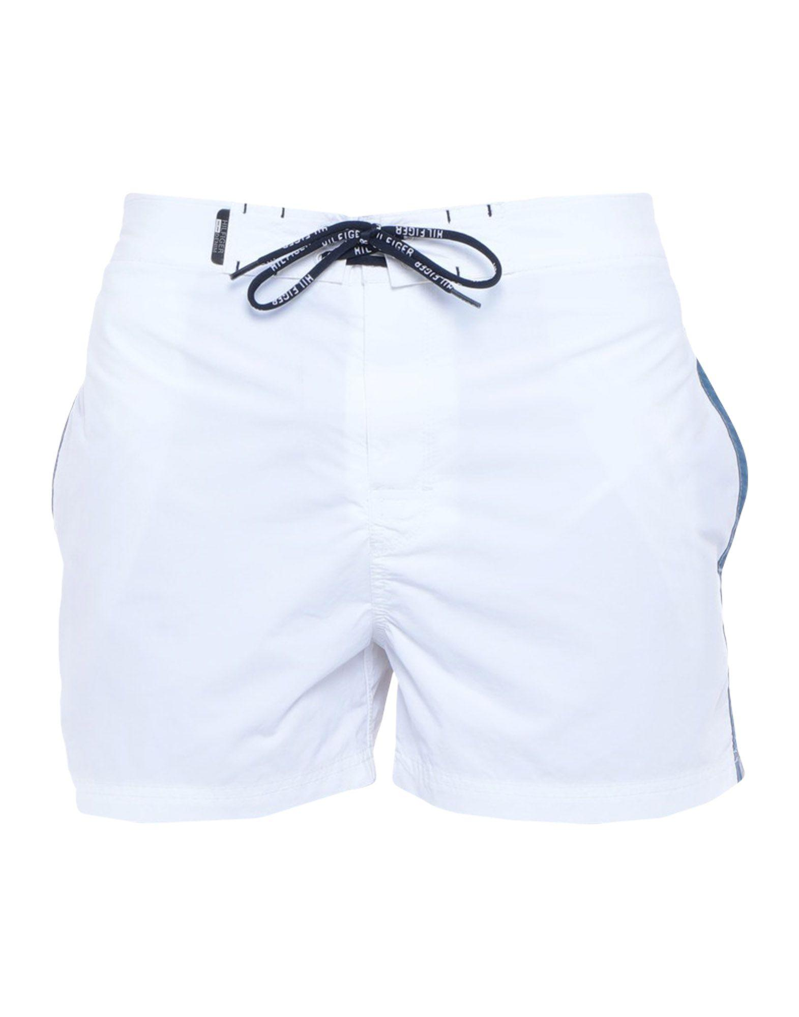 e497b295ecc698 Lyst - Tommy Hilfiger Swimming Trunks in White for Men