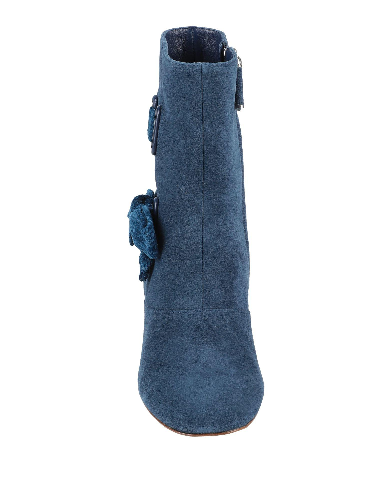 Botines de caña alta Rodo de Ante de color Azul