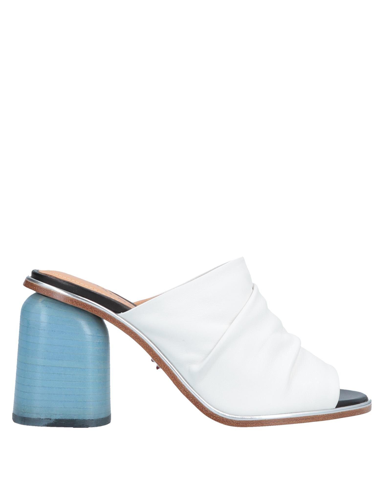 9a2676228f9 Lyst - Halmanera Sandals in White