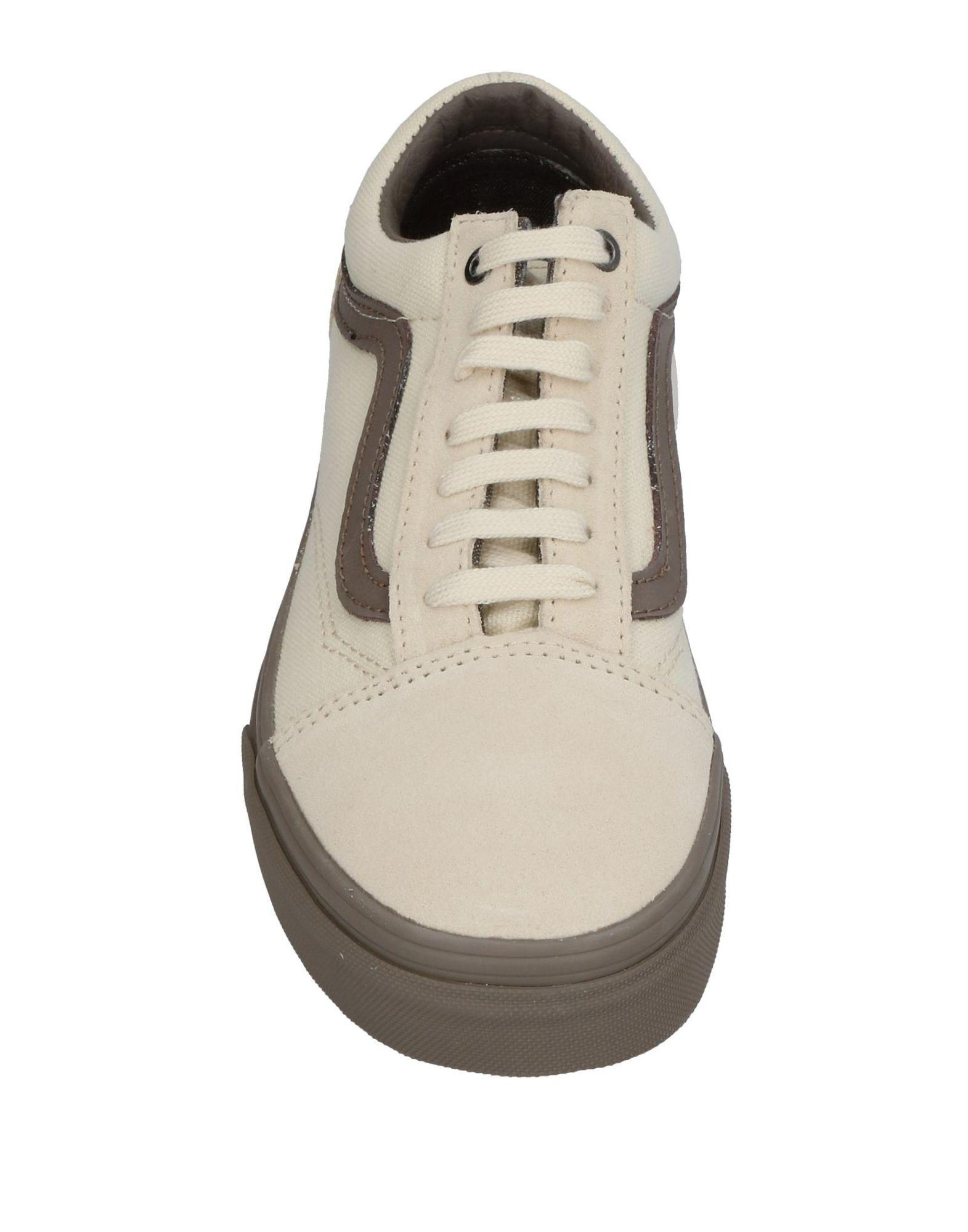 Vans Canvas High-tops & Sneakers in Ivory (White)