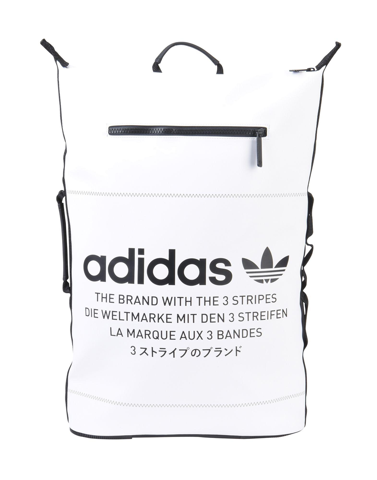 6a4359fcc7 adidas Originals Backpacks   Bum Bags in White - Lyst