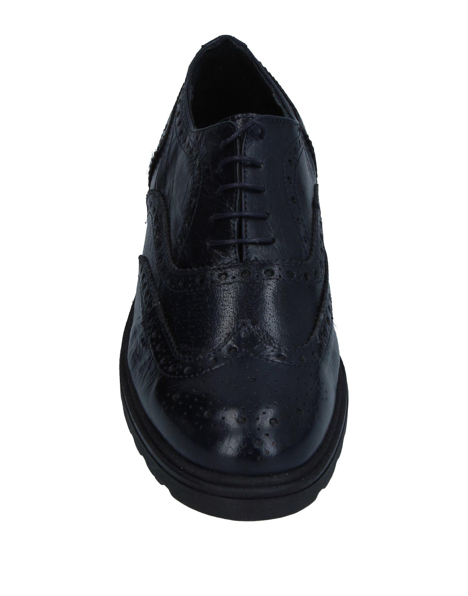 Cianci Leather Lace-up Shoe in Dark Blue (Blue) for Men