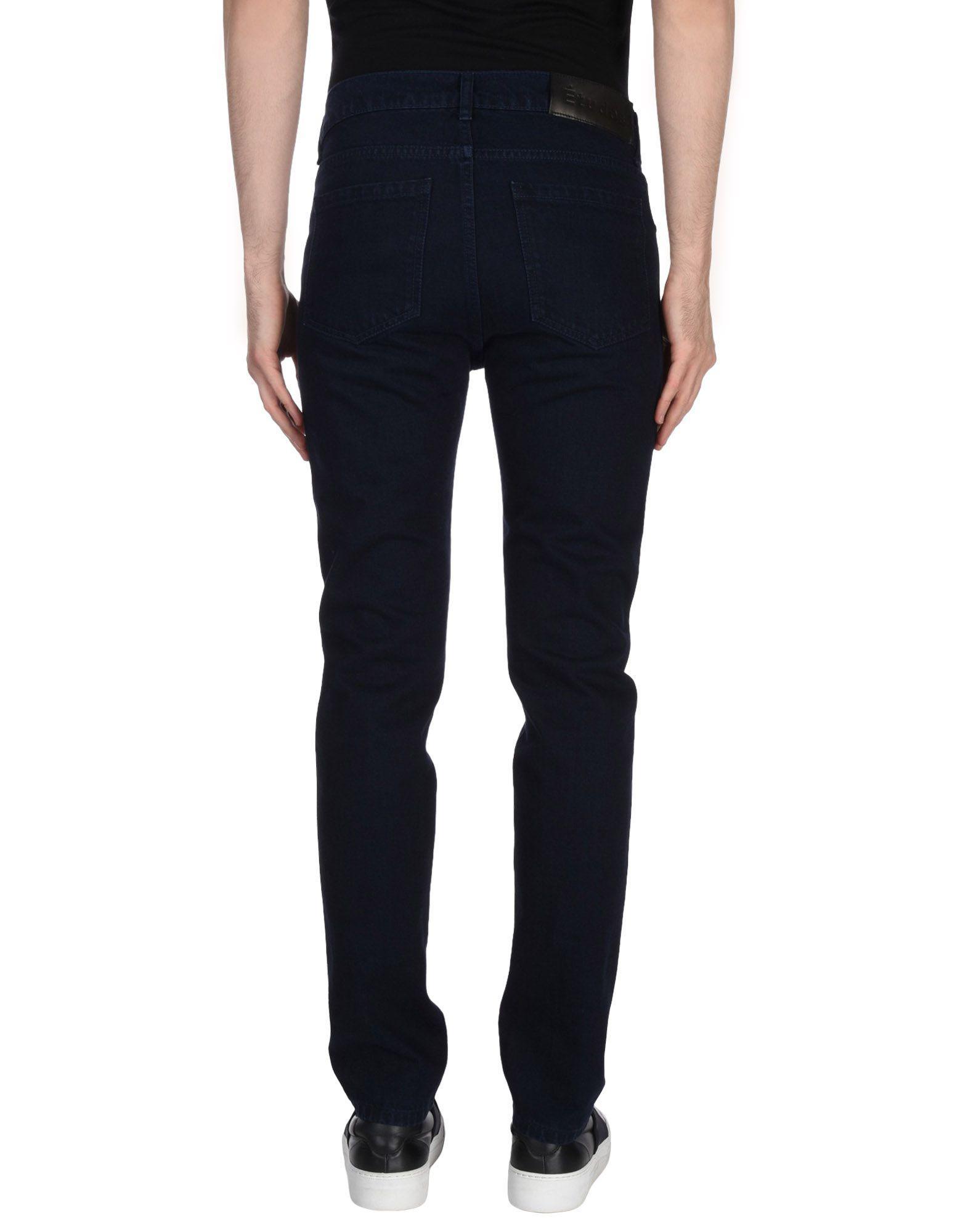 Etudes Studio Denim Trousers in Blue for Men