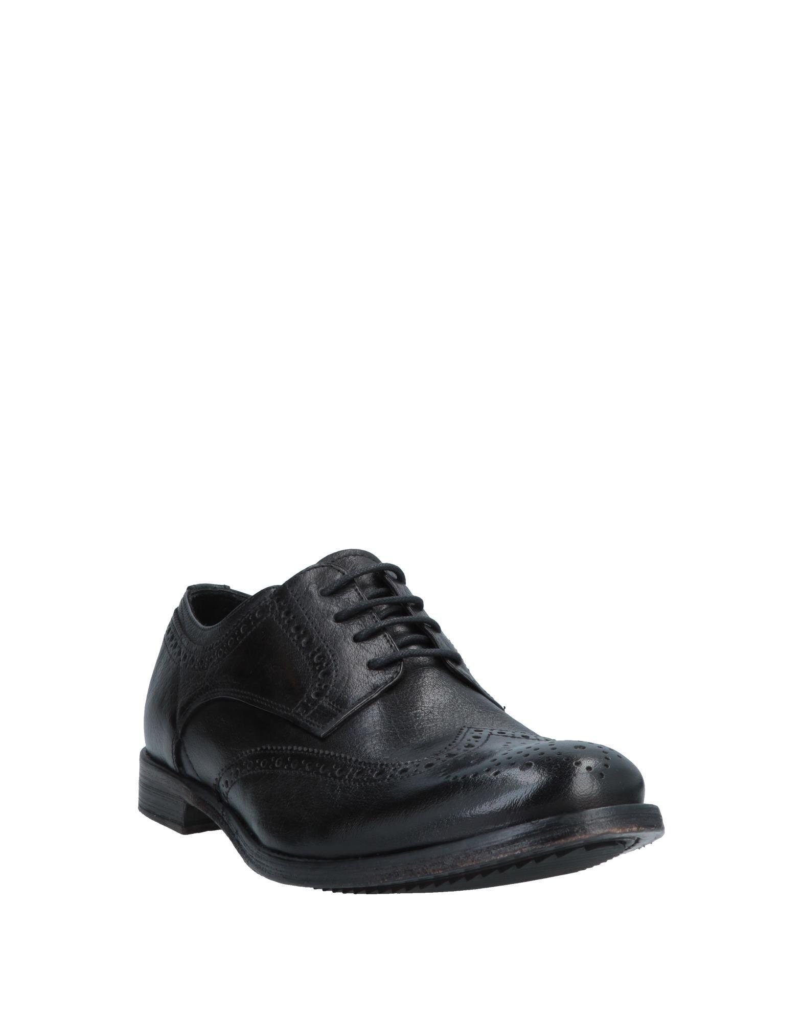 Zapatos de cordones Minoronzoni 1953 de Cuero de color Negro para hombre