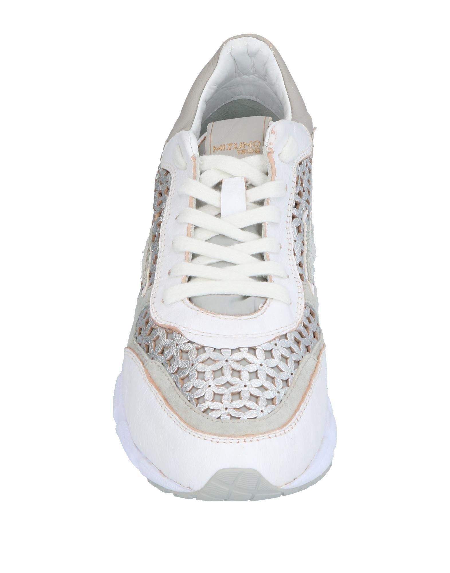 Sneakers & Deportivas Mizuno de Ante de color Blanco
