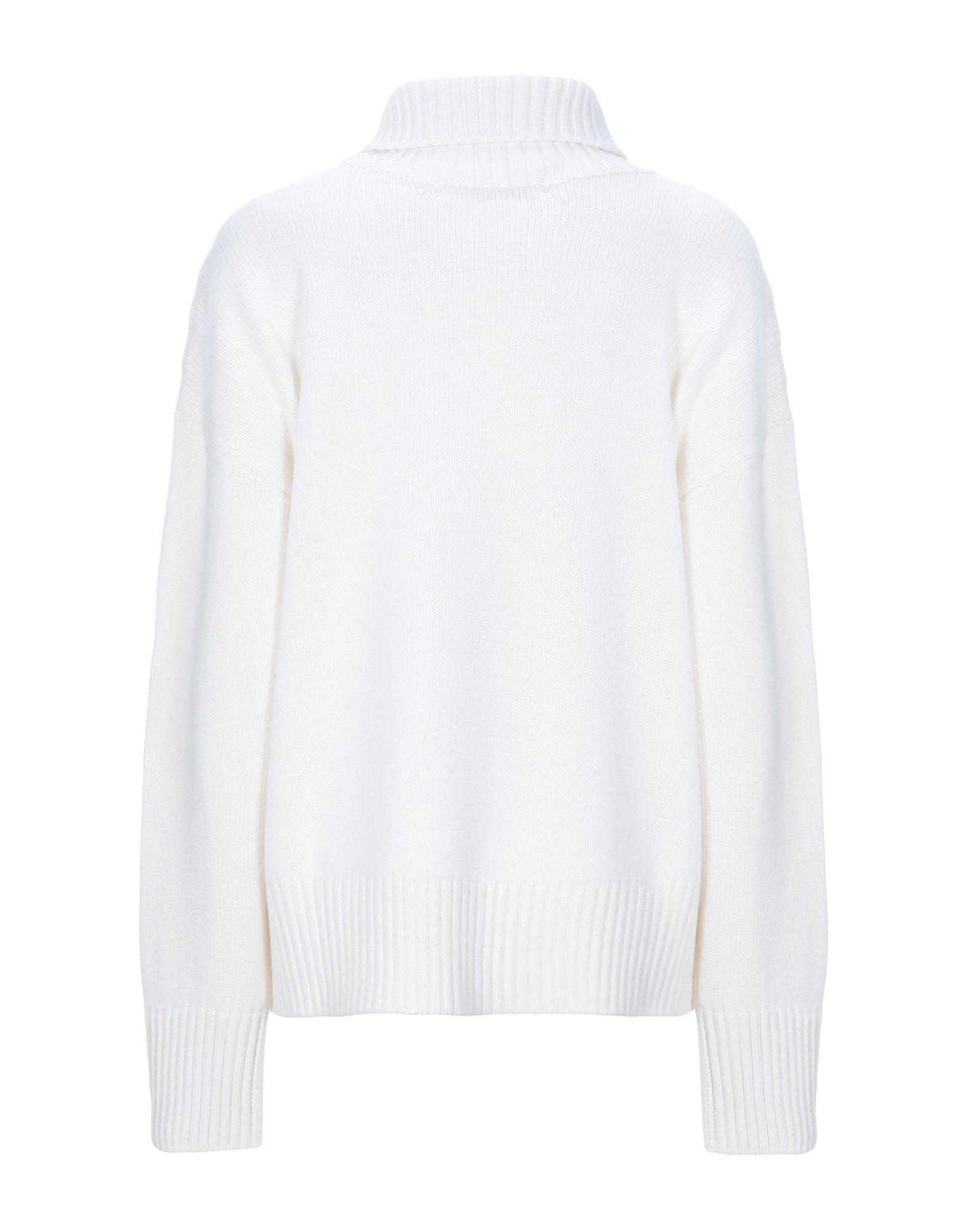 Col roulé Lamberto Losani en coloris Blanc