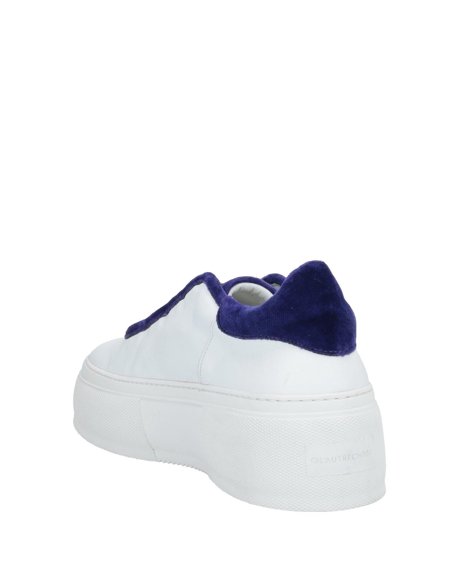Sneakers & Deportivas L'Autre Chose de Terciopelo de color Blanco
