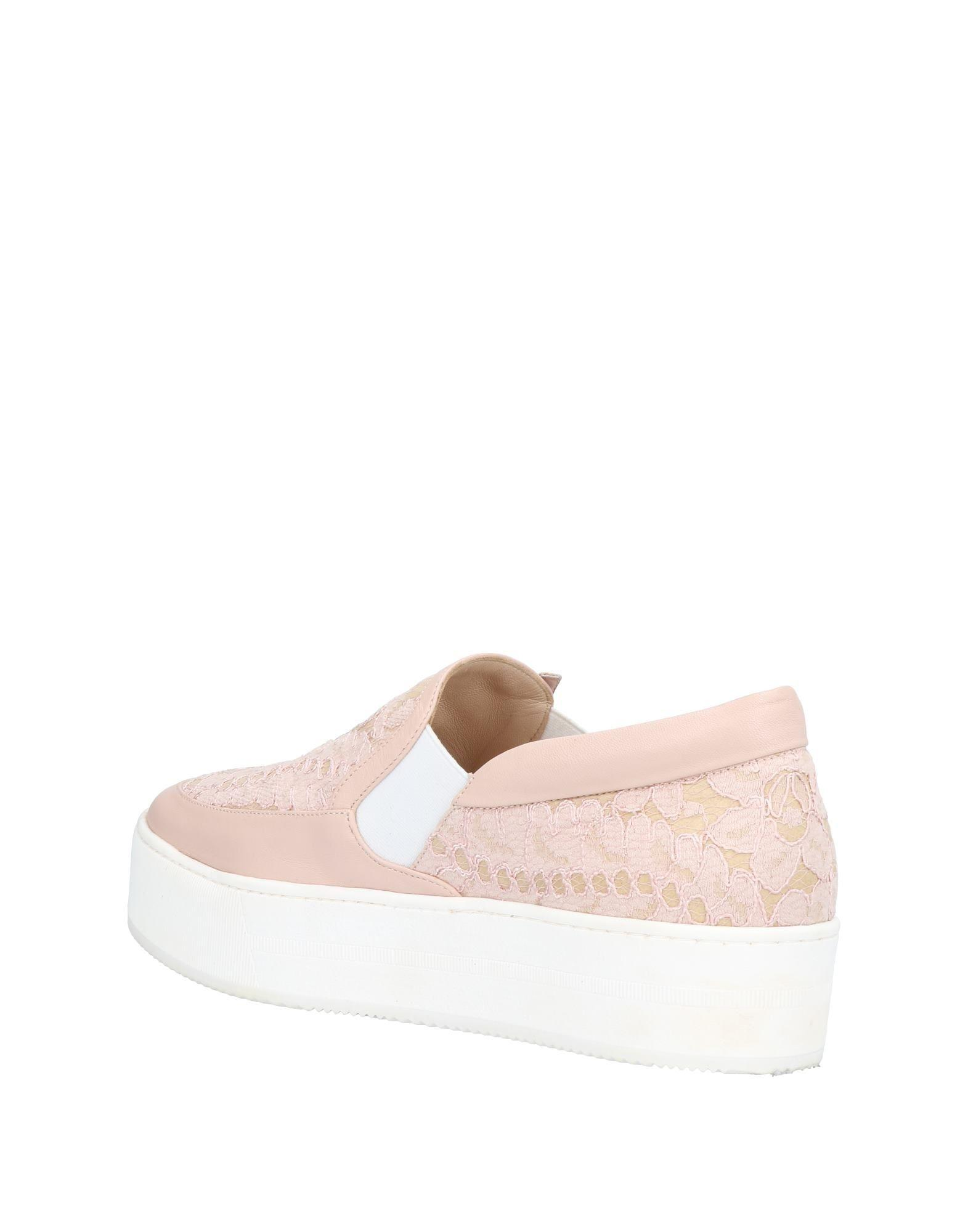 N°21 Lace Low-tops & Sneakers in Pale Pink (Pink)
