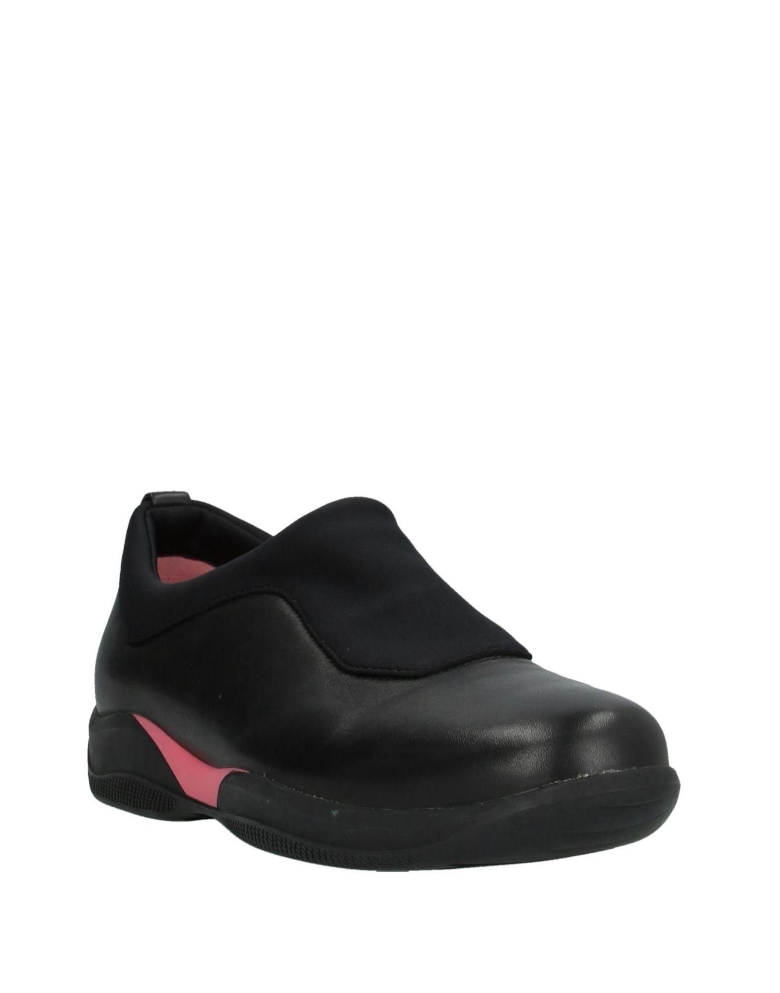 Sneakers & Deportivas Prada de Cuero de color Negro