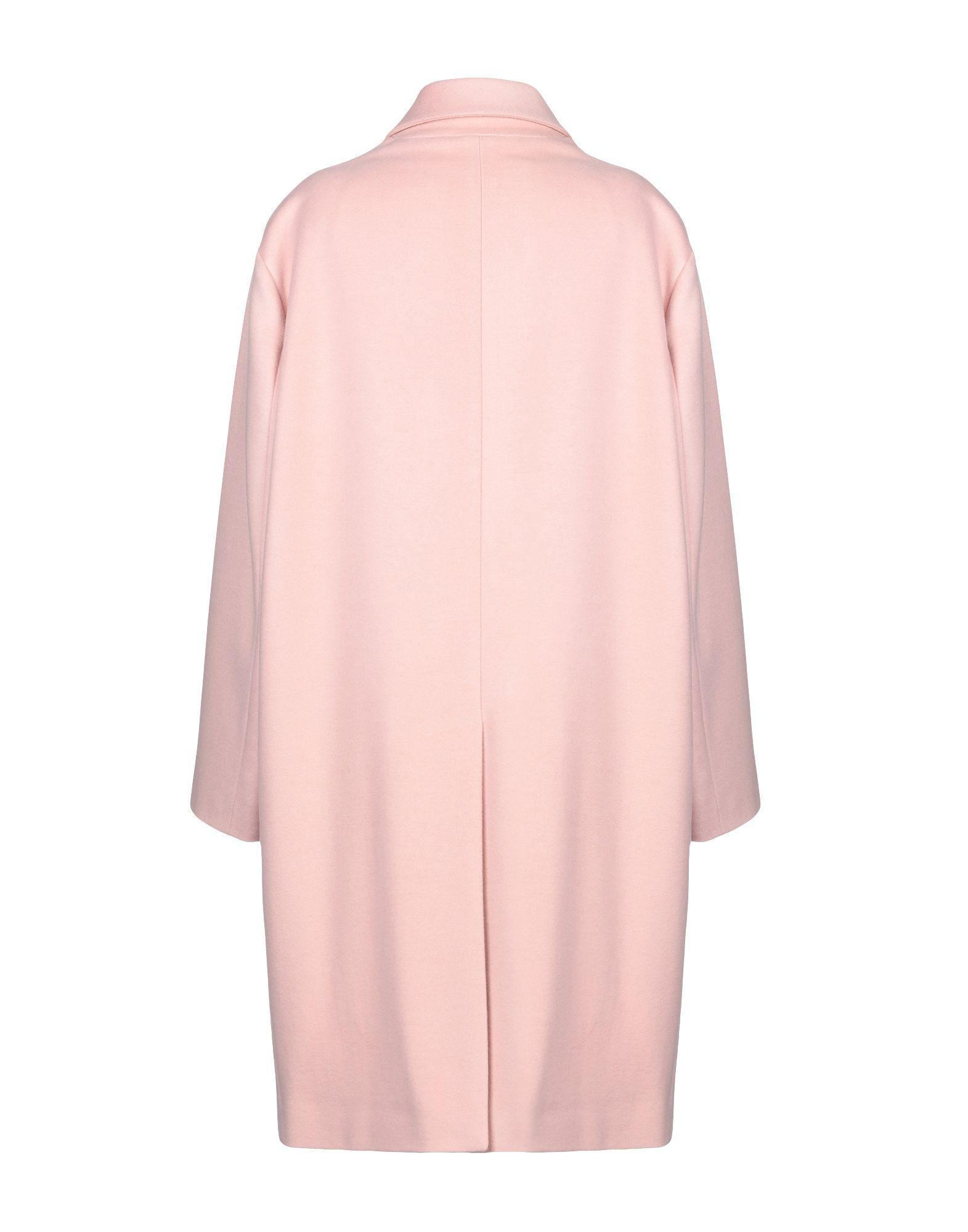 Manteau long Laines DSquared² en coloris Rose 3rGd7