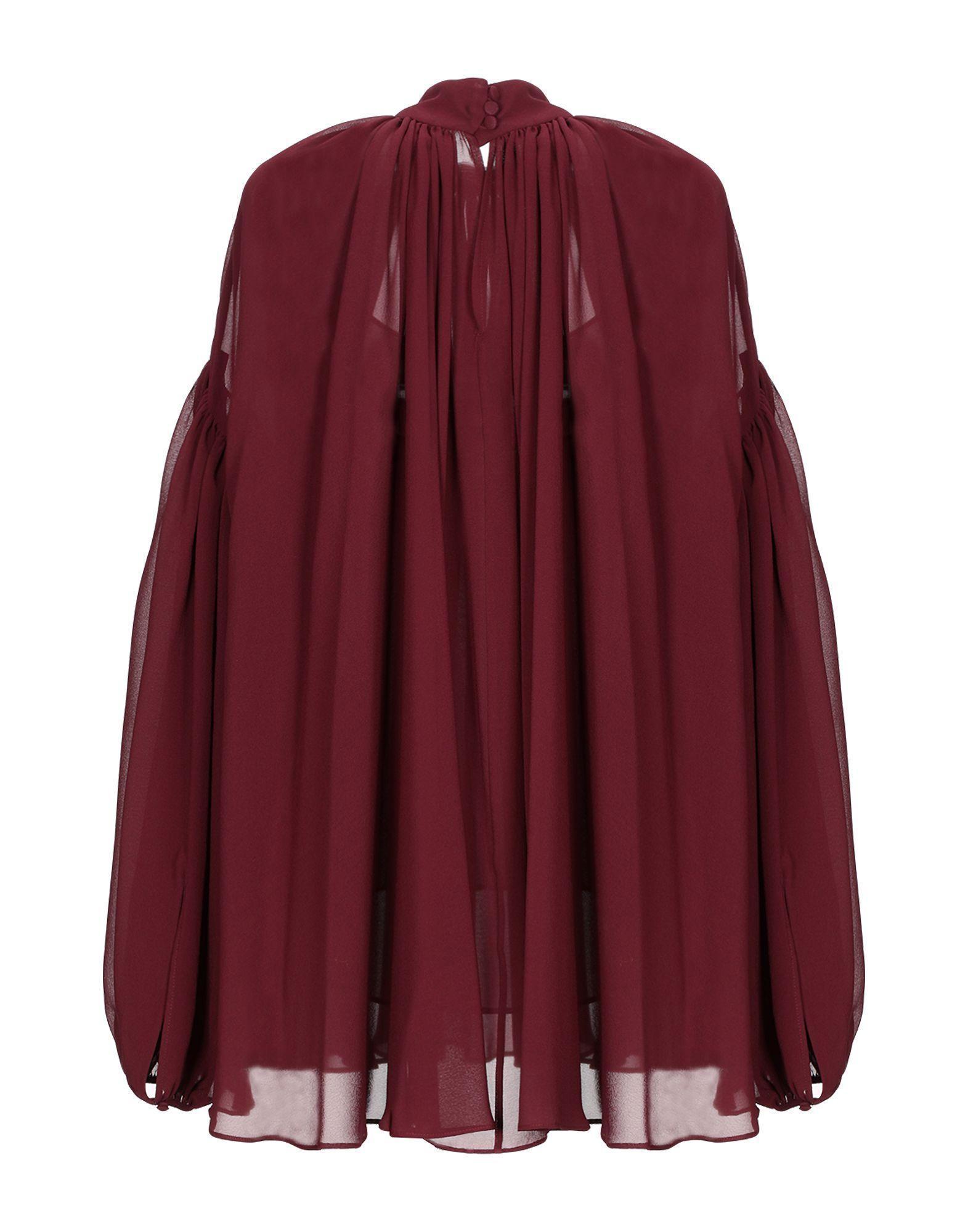Blouse Soie Stella McCartney en coloris Rouge