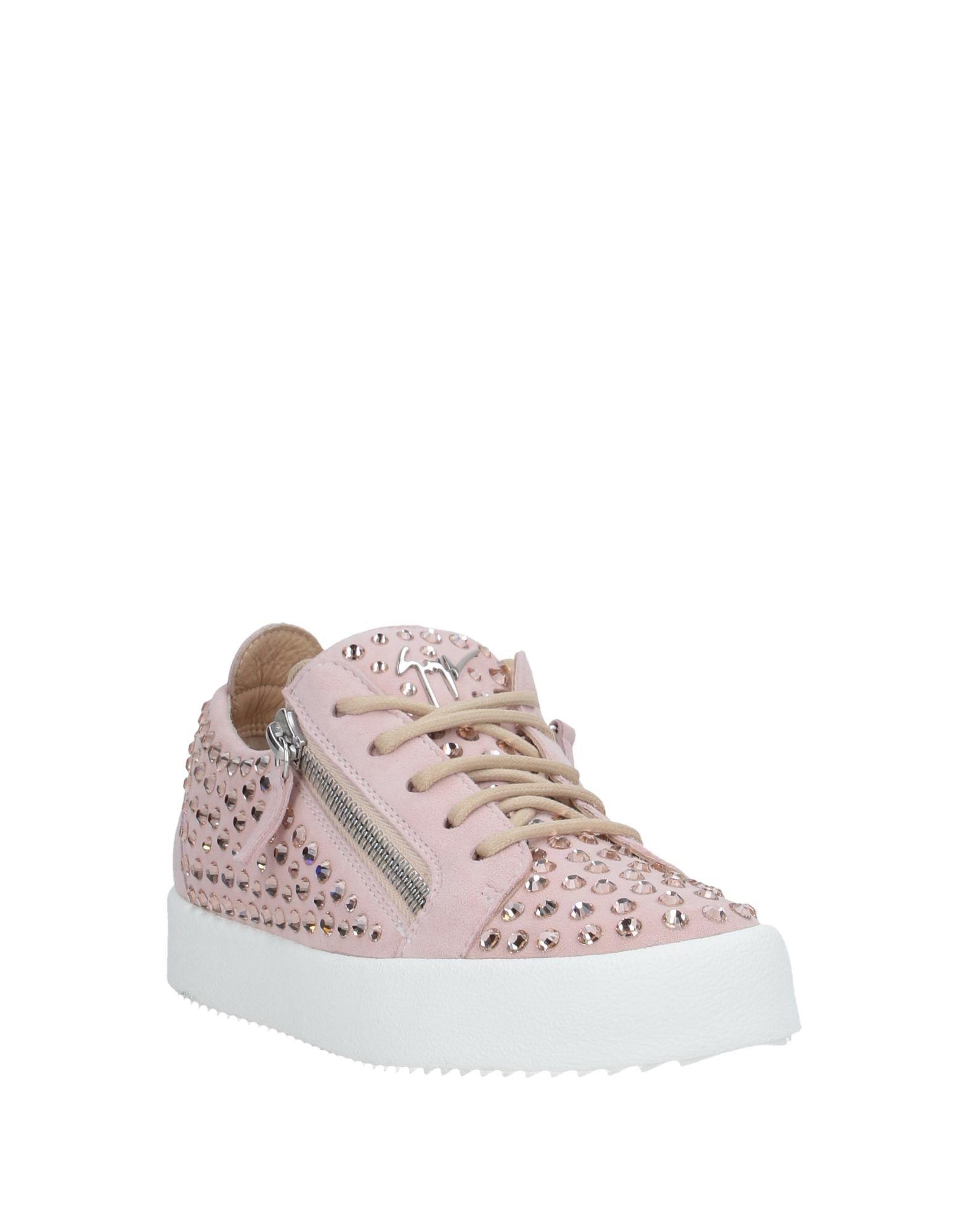 Sneakers & Deportivas Giuseppe Zanotti de Ante de color Rosa
