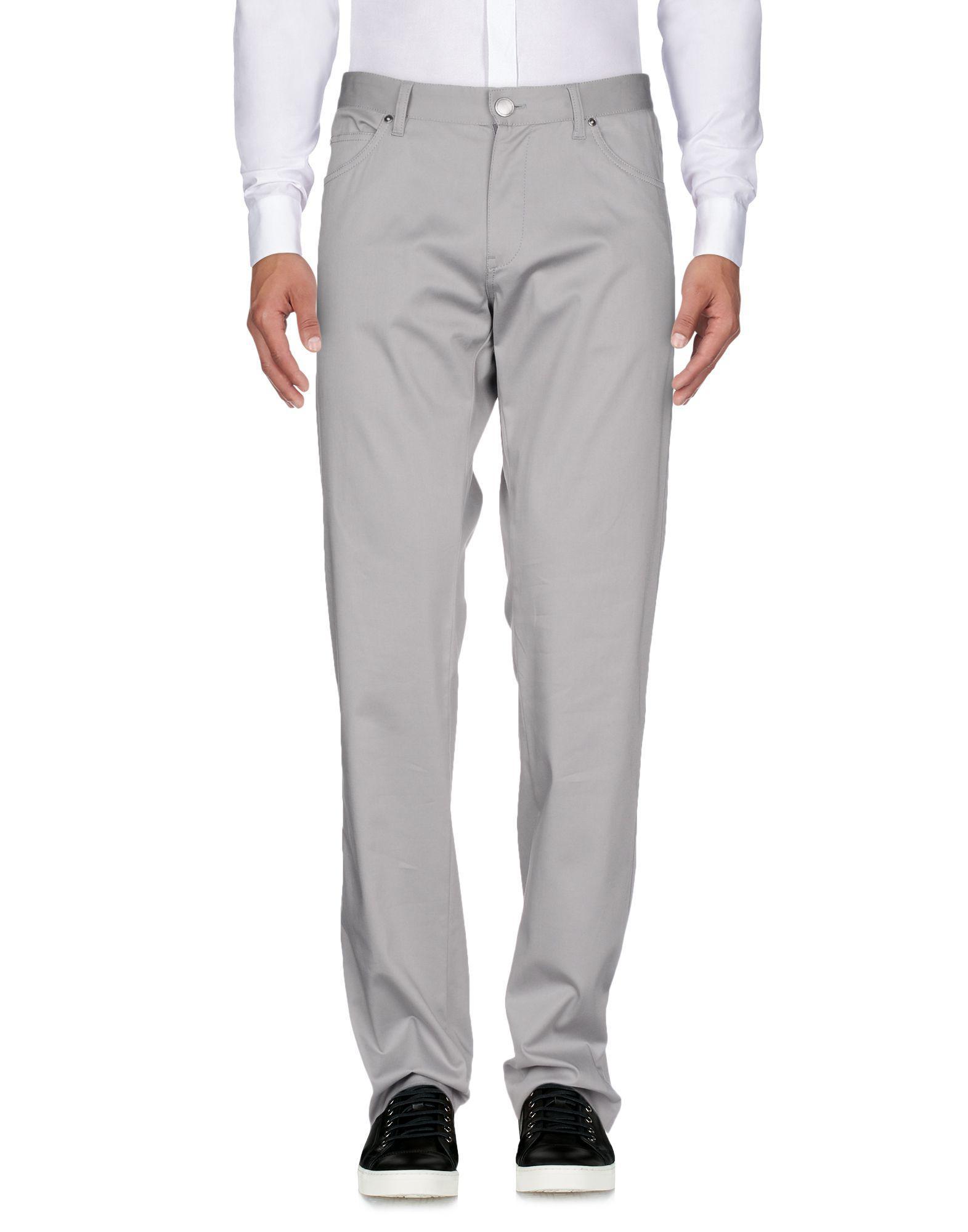 Lyst - Pantalon Versace pour homme en coloris Gris 56e375bdbd2