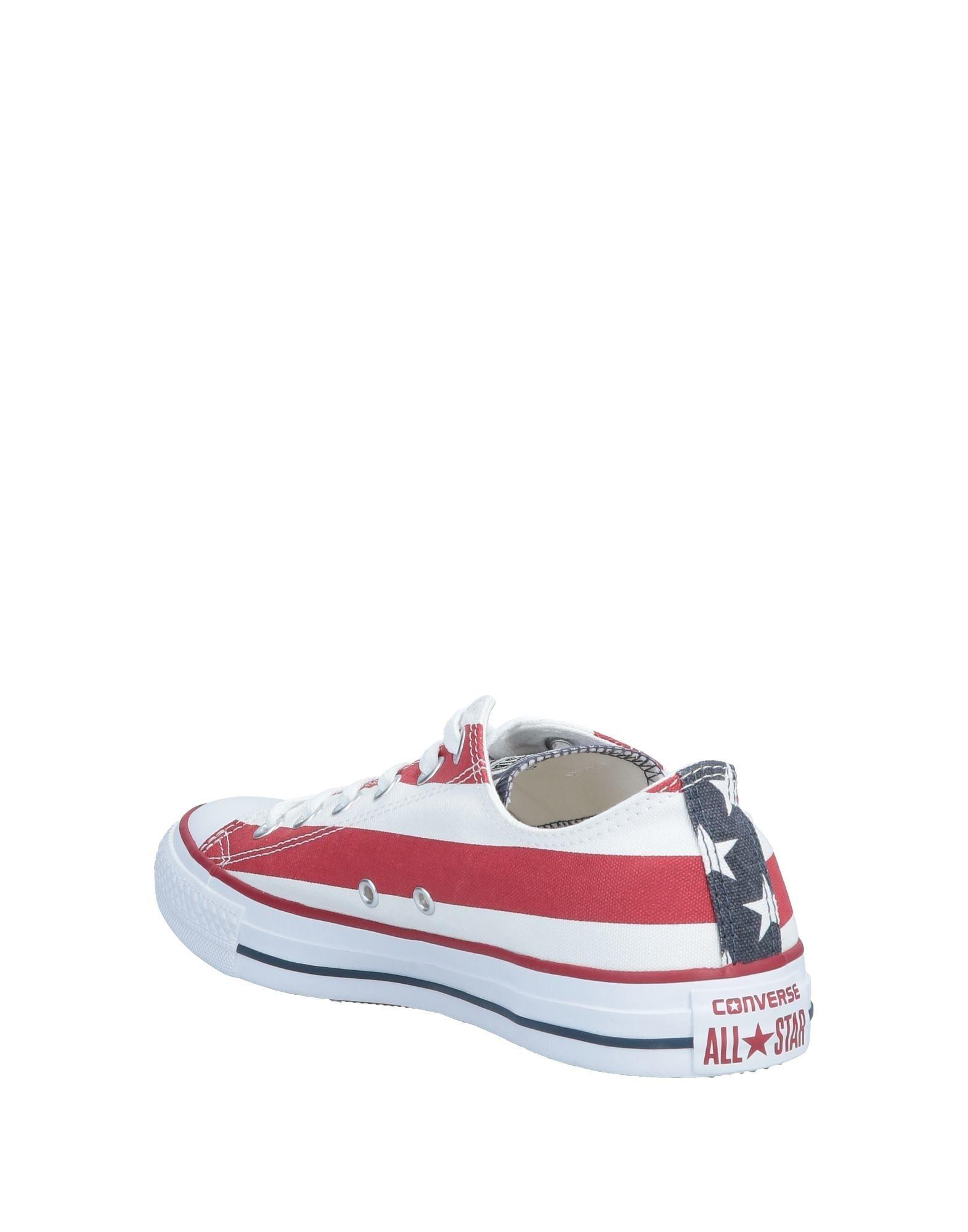 b33cc2441783 Converse Low-tops   Sneakers in Red for Men - Lyst