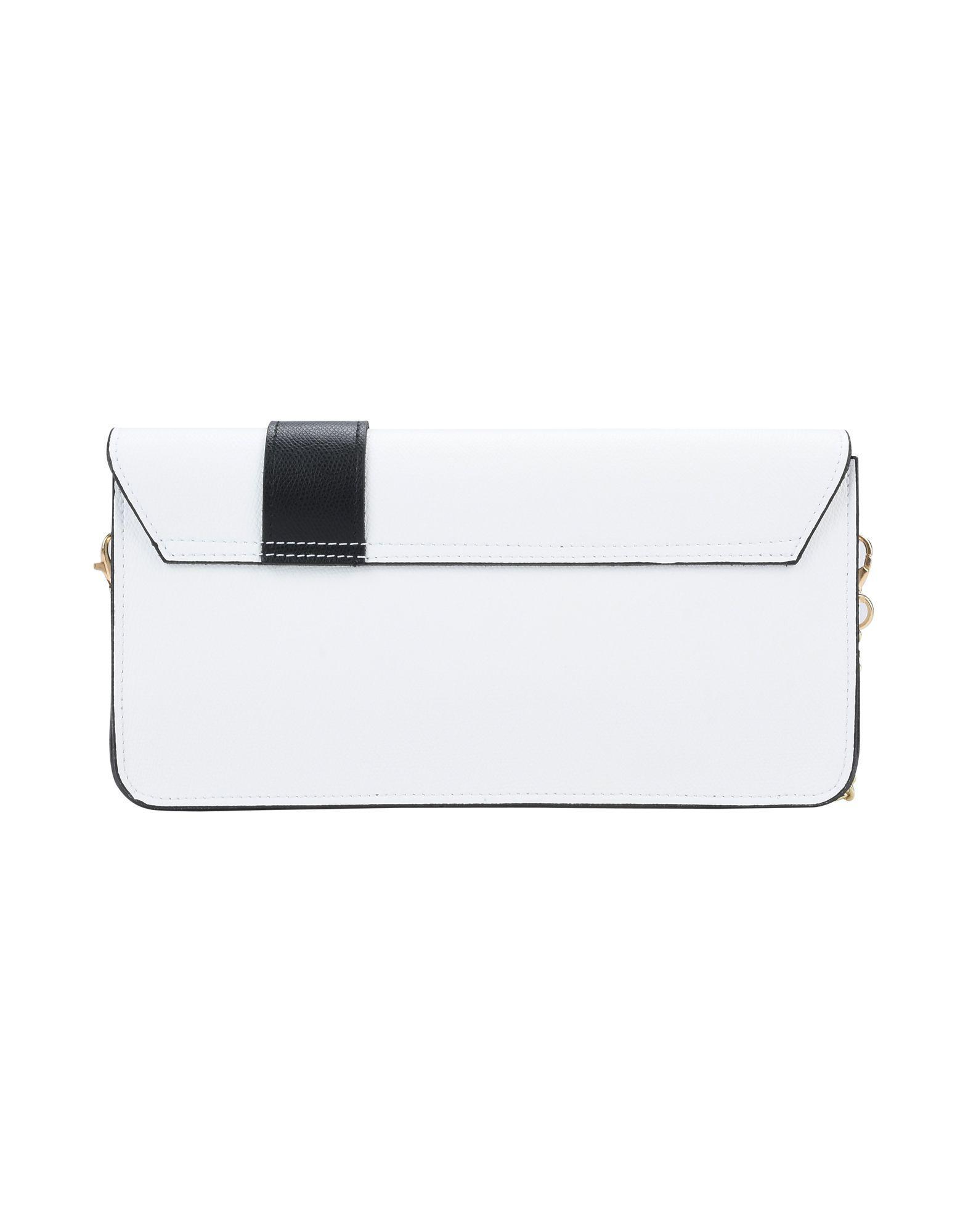 Parentesi Leather Cross-body Bag in White