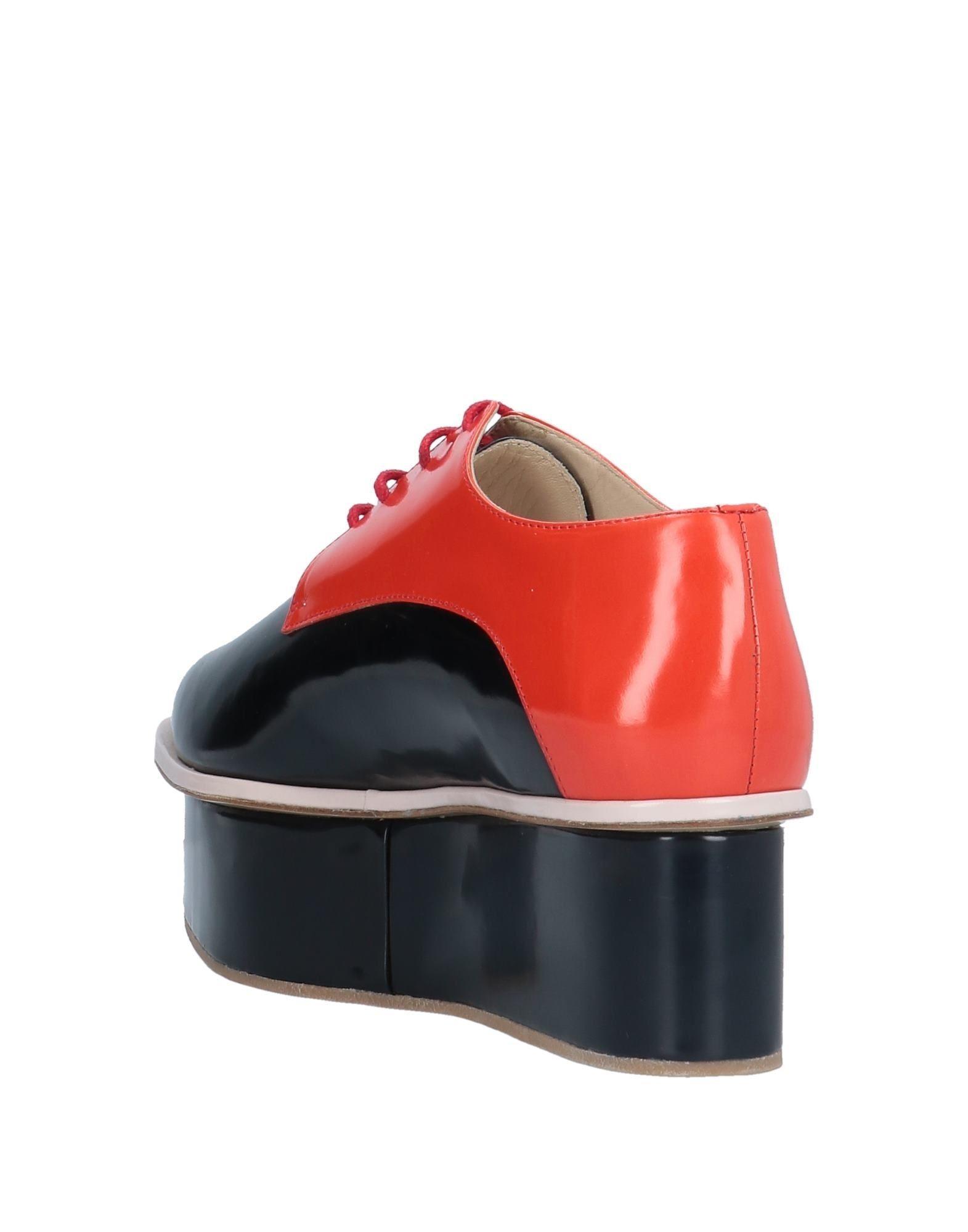 Zapatos de cordones Delpozo de color Negro