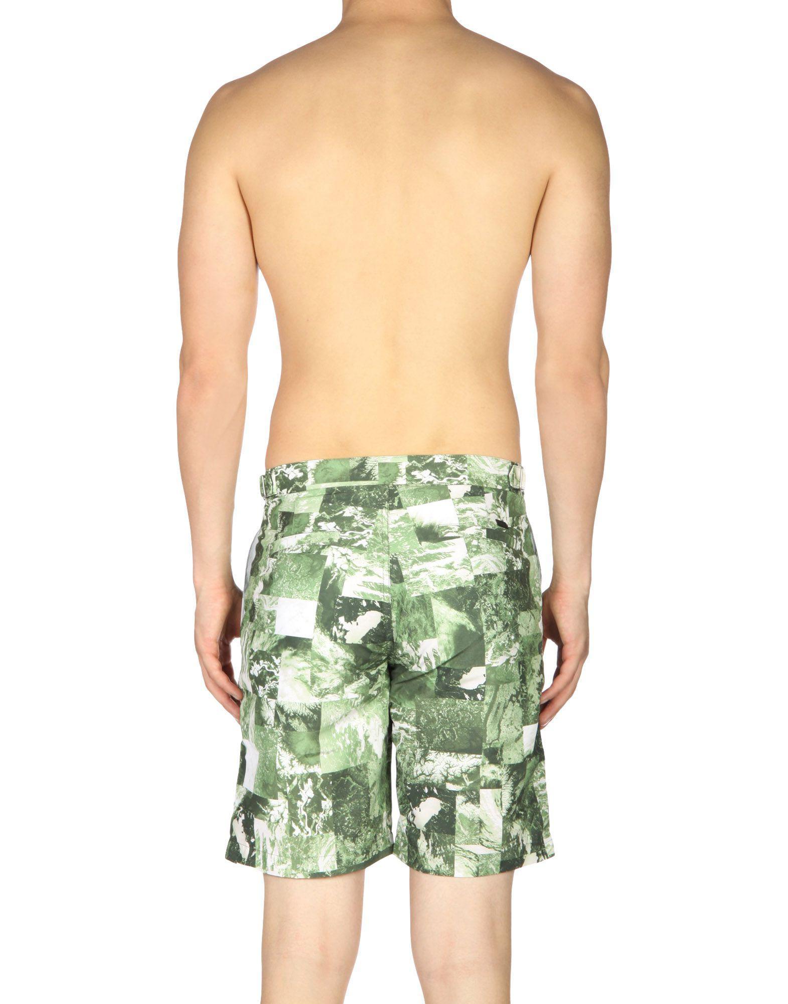 56399e455f Lyst - Armani Exchange Swim Trunks in Green for Men