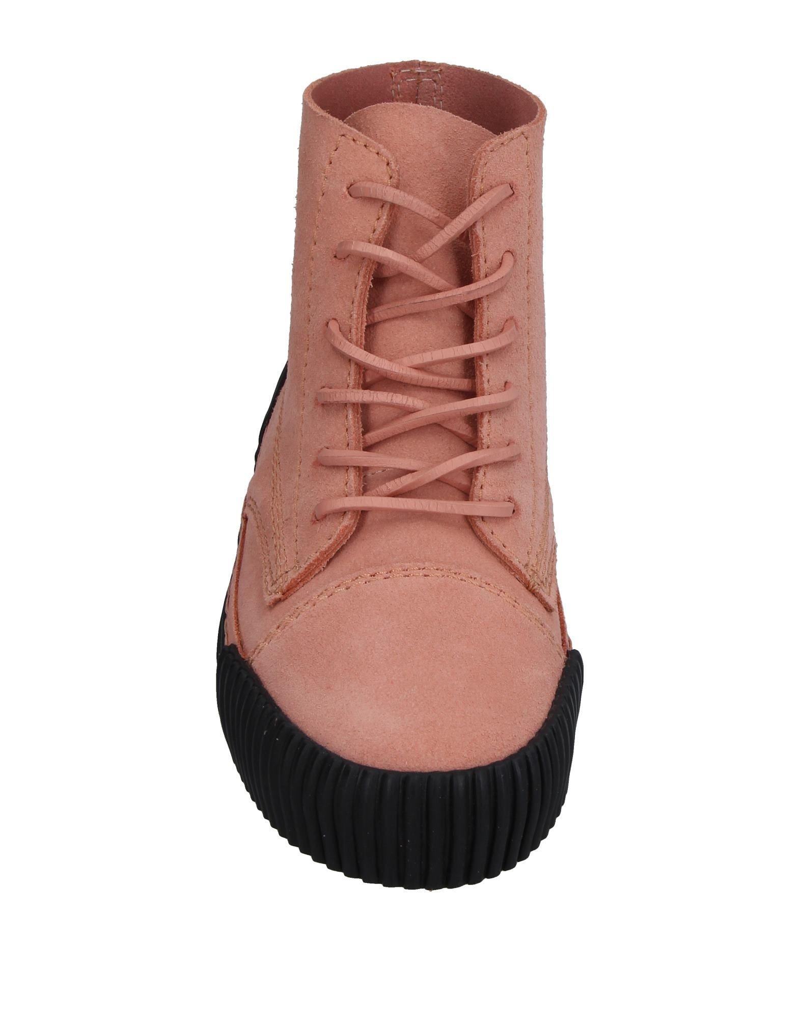 Alexander Wang Leather High-tops & Sneakers in Pink