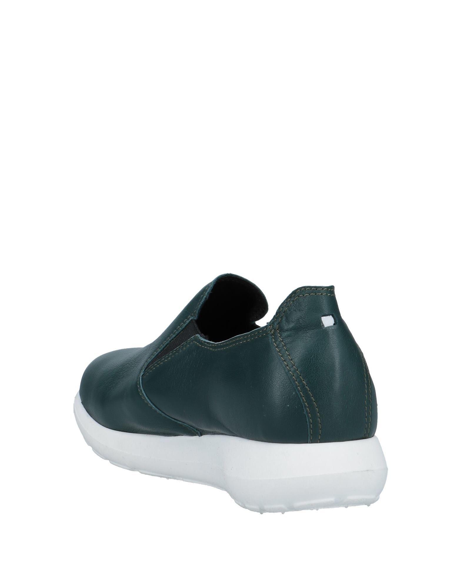 Sneakers & Tennis basses Cuir Collection Privée en coloris Vert 8sVD