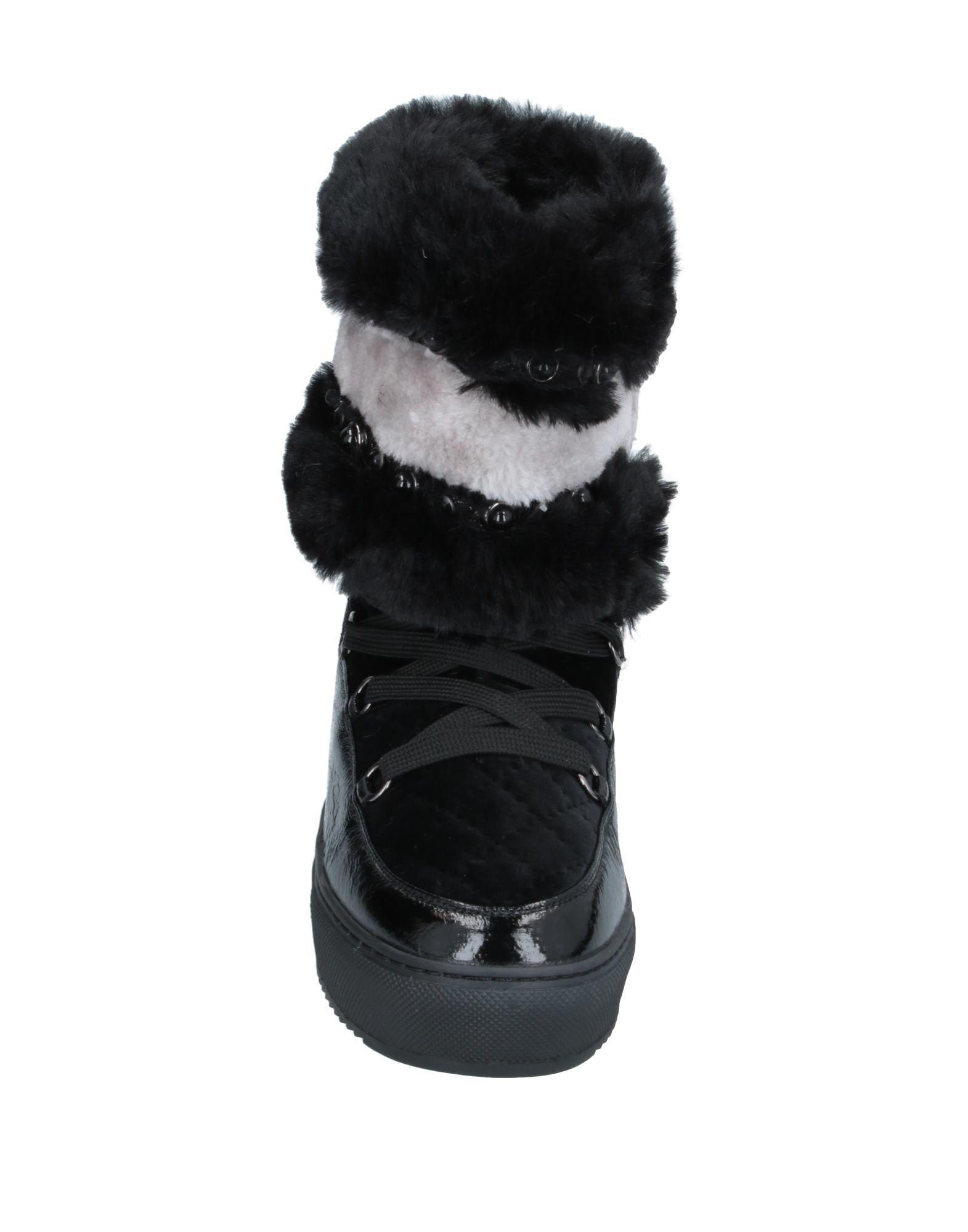 Botines de caña alta CafeNoir de color Negro