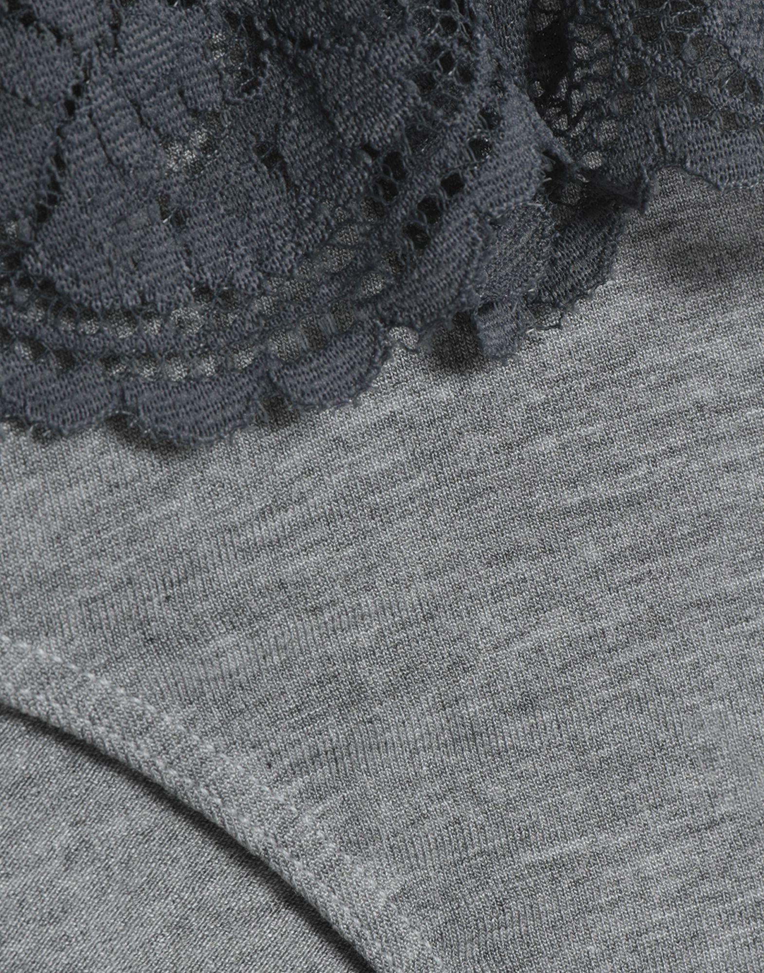 Slip Cosabella de Encaje de color Gris