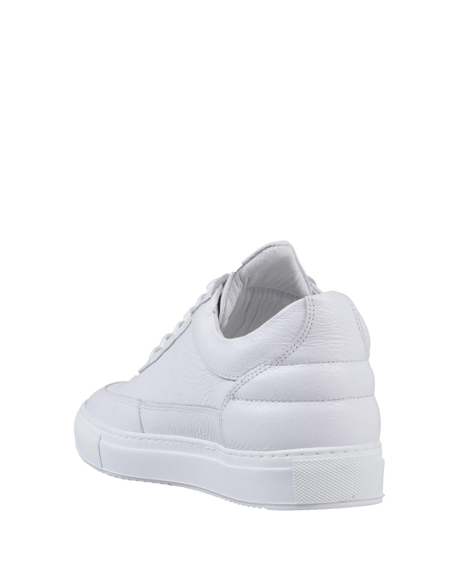 Sneakers & Deportivas Filling Pieces de Cuero de color Blanco