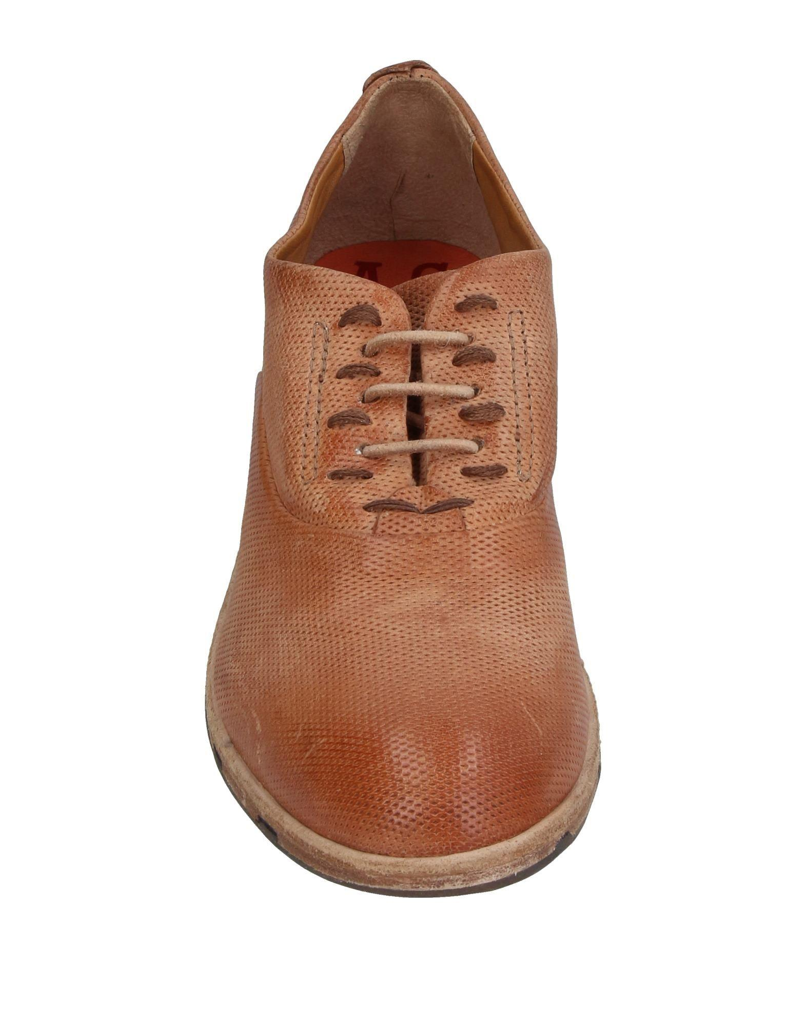 A.s.98 Leather Lace-up Shoe in Camel (Brown) for Men