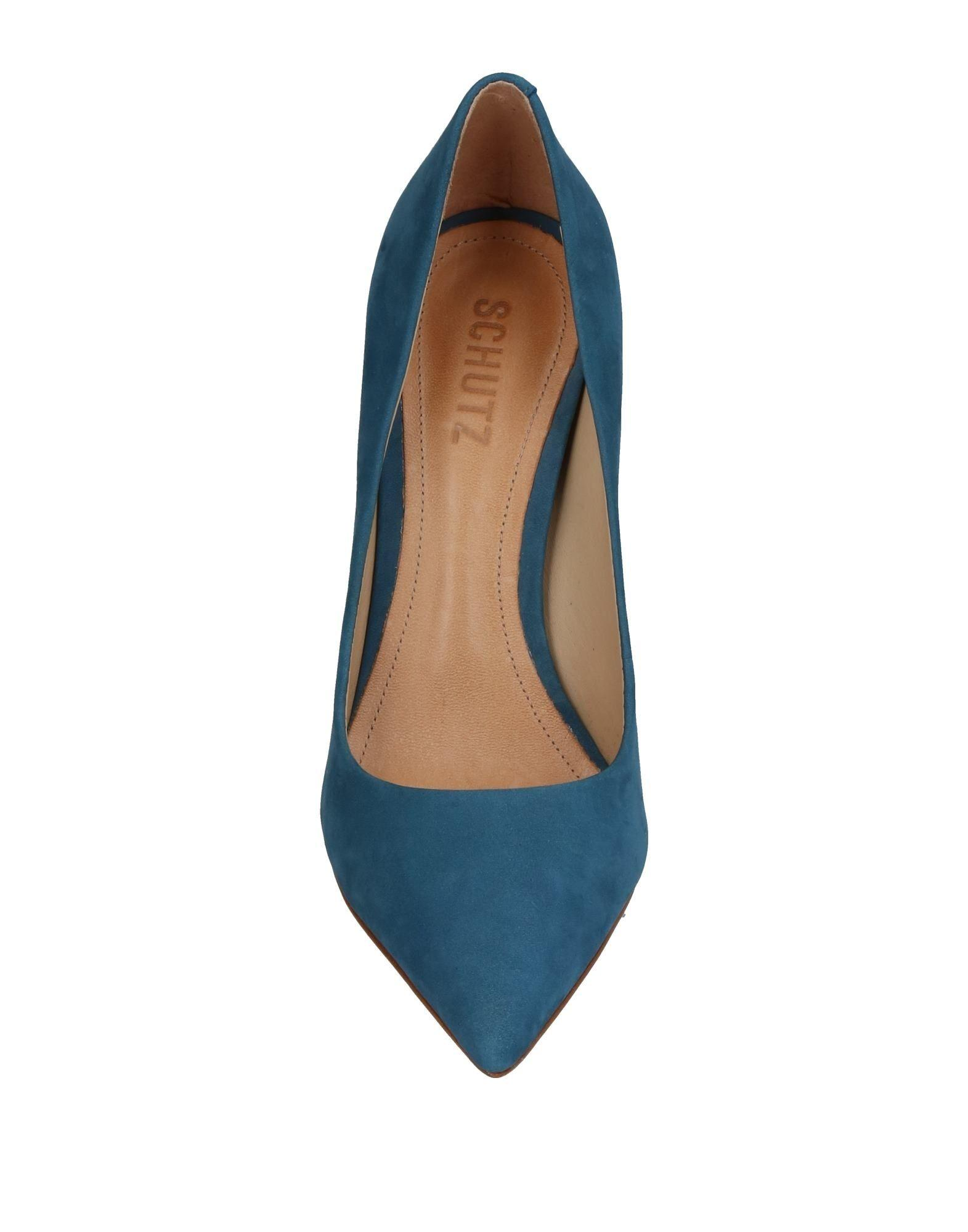Zapatos de salón Schutz de Cuero de color Azul