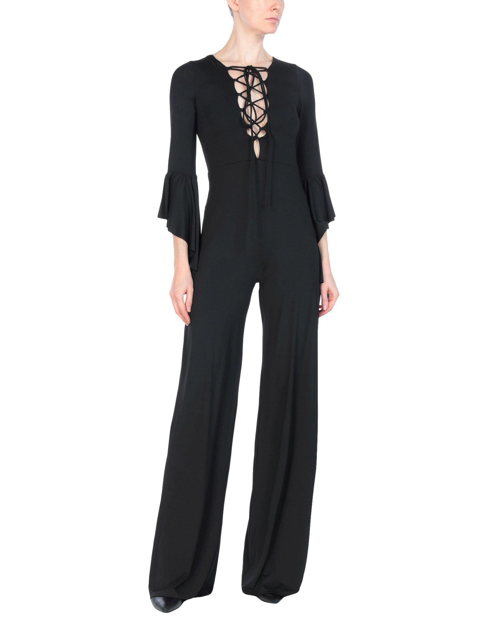 6083892a427 Lyst - Fisico Jumpsuit in Black