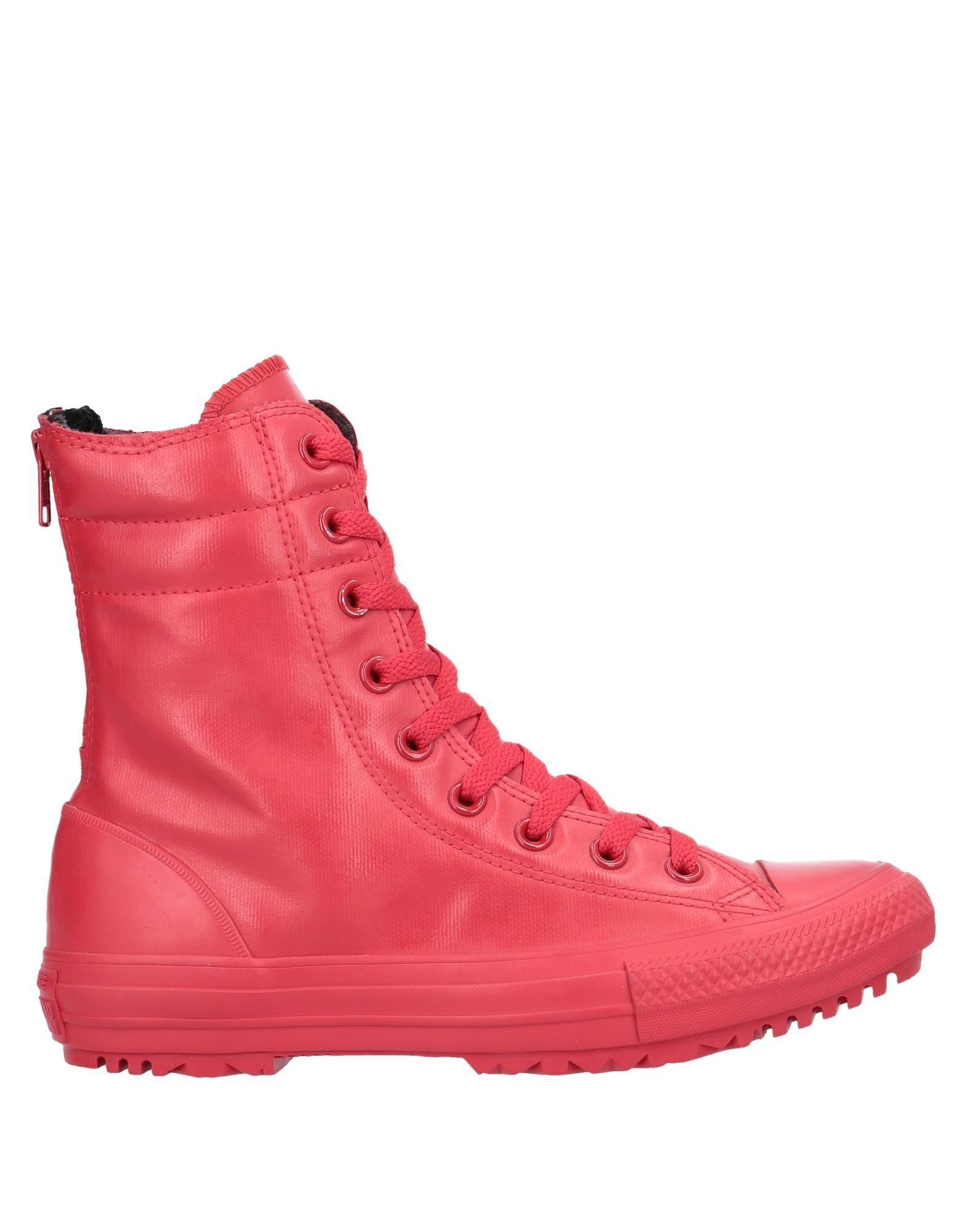 Converse High Tops Sneakers In Red Lyst
