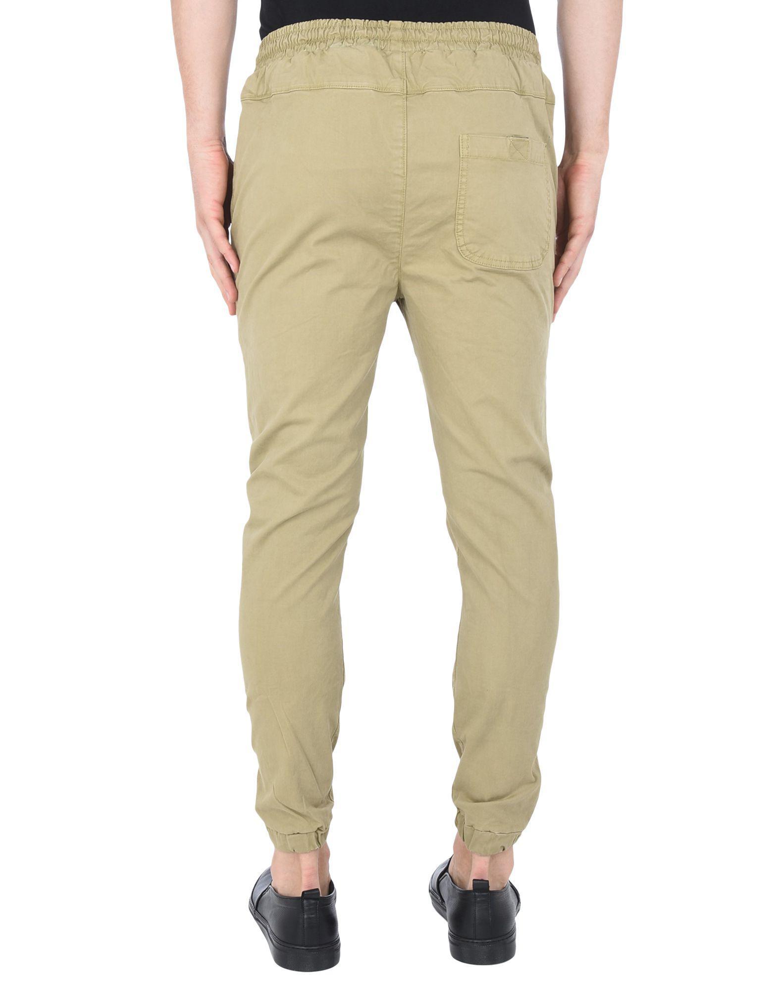 RVLT Cotton Casual Trouser in Khaki (Natural) for Men